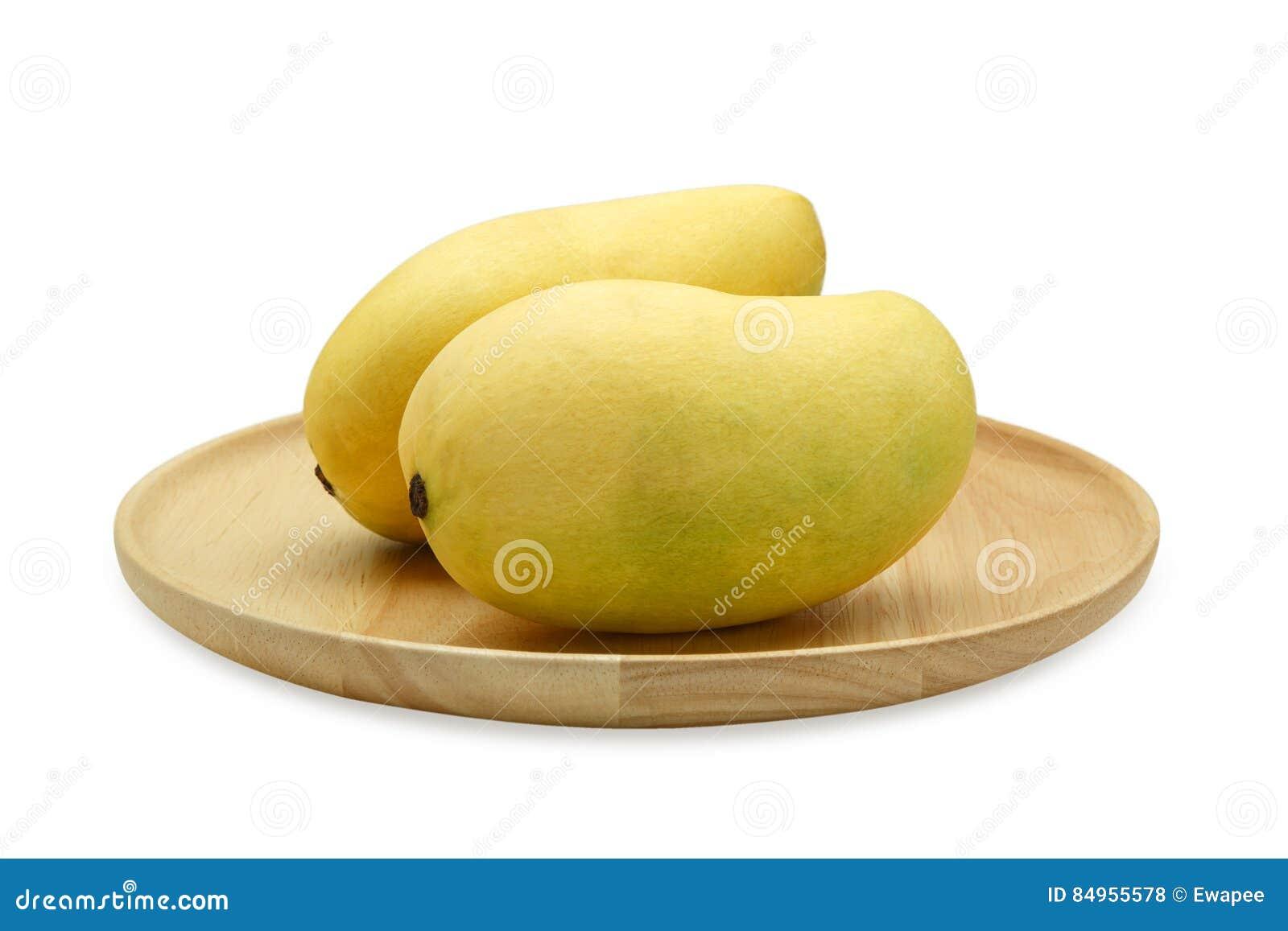 Mango en placa de madera