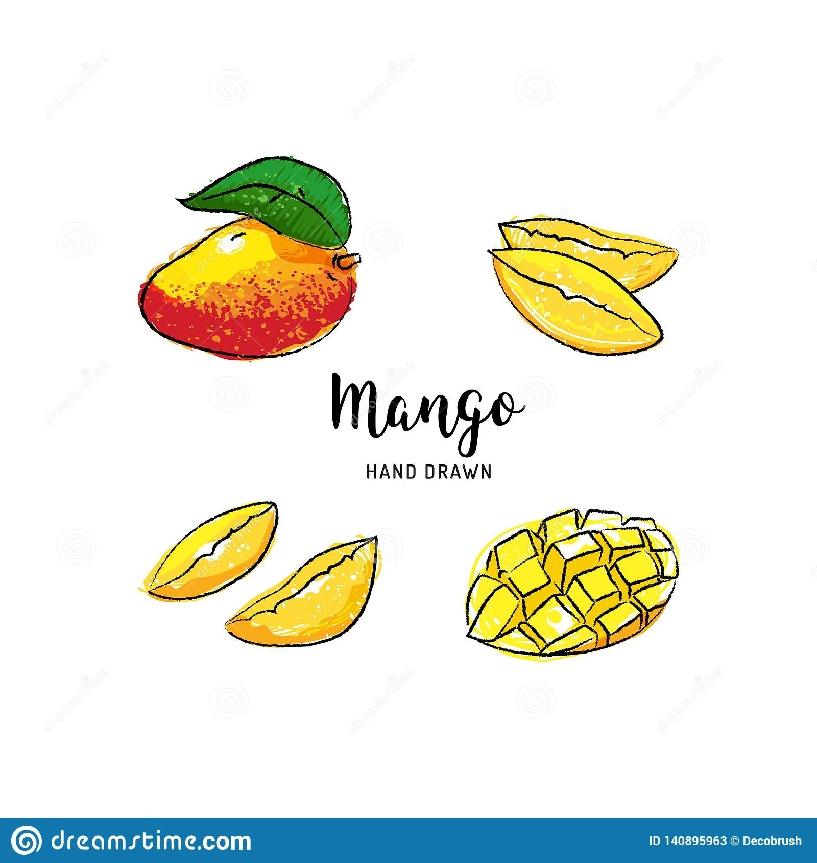 Mango Pictures Drawing