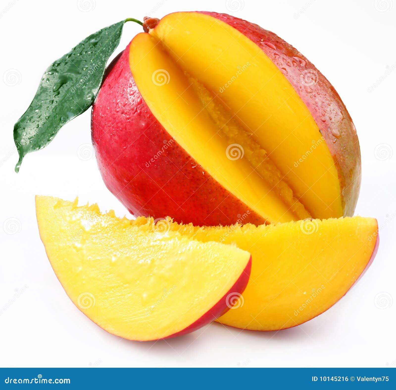 Mango met kwabjes