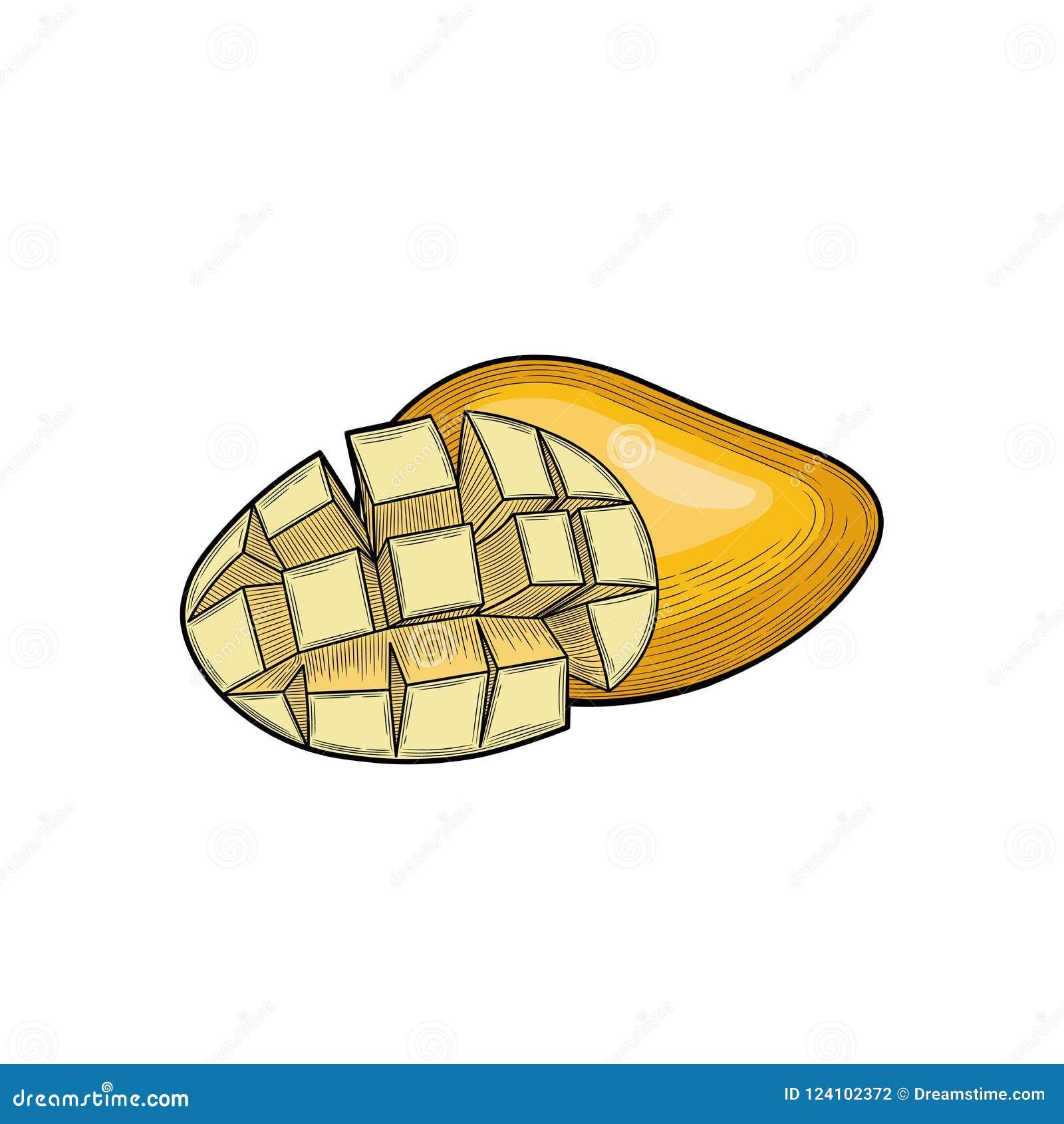 Mango Mango mezzo Il raccolto della frutta Frutta esotica