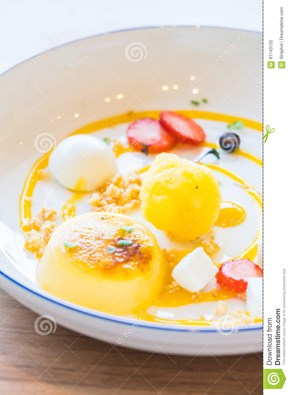 Passion Fruit Sauce For Cake