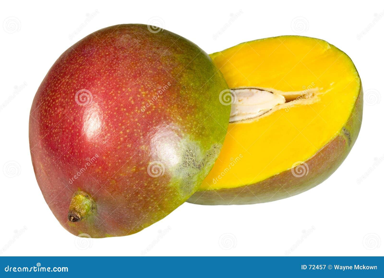Mango rebanado
