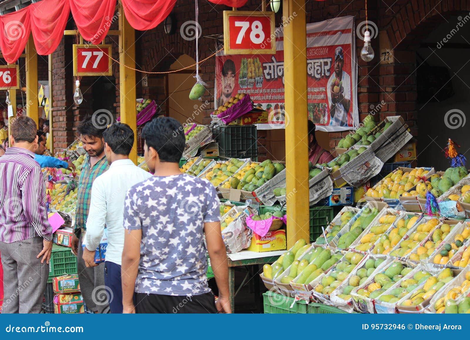 Mangoes For Sale At Mango And Sharbat Fair Editorial Photo