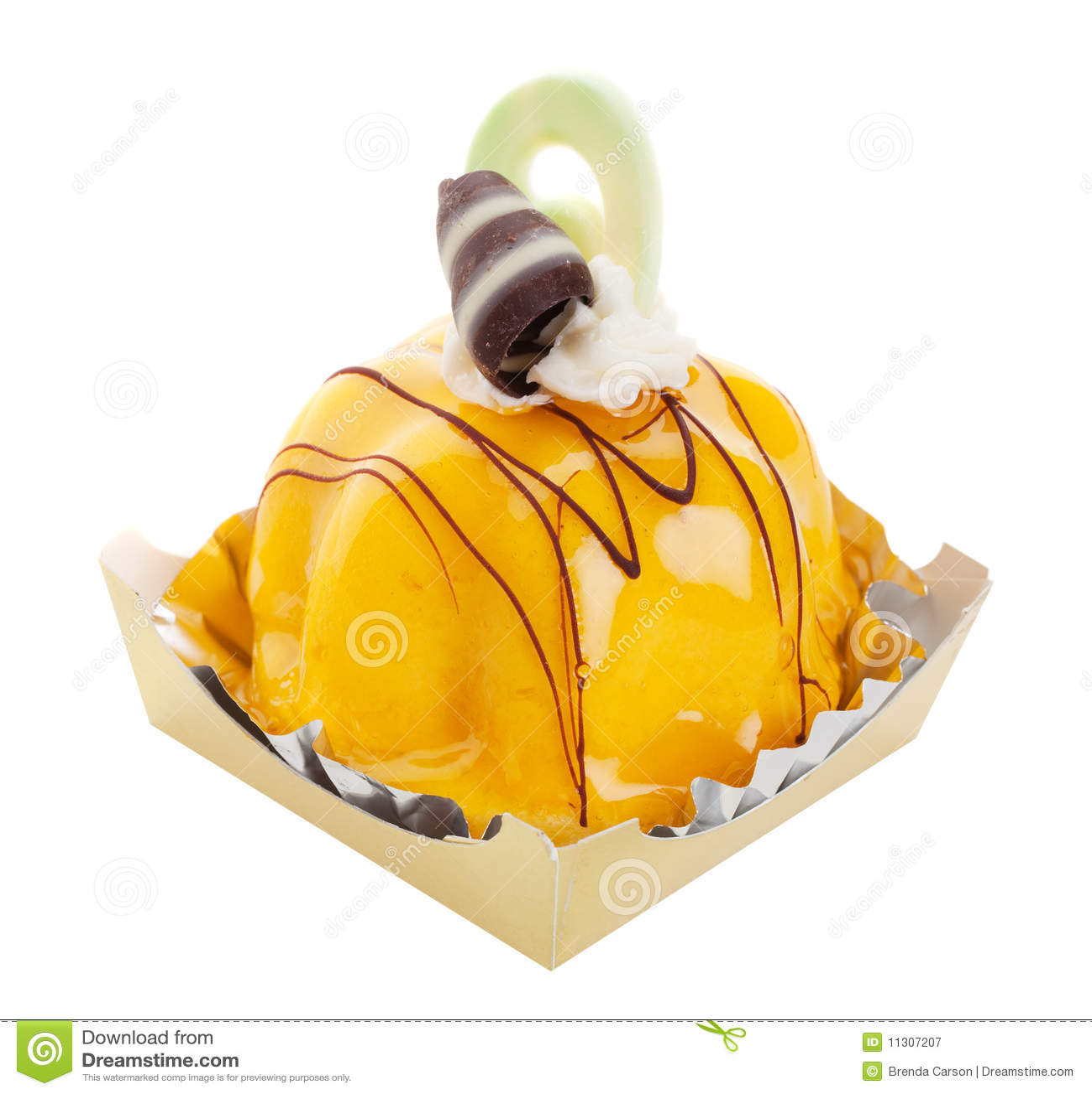 Mangofrucht-Kremeis