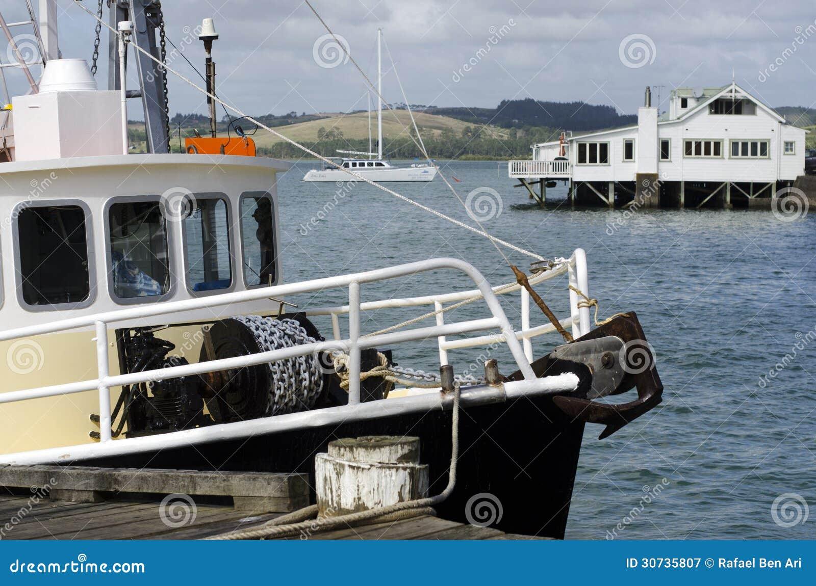 Mangonui New Zealand  City pictures : Mangonui Harbor, New Zealand Royalty Free Stock Photography Image ...