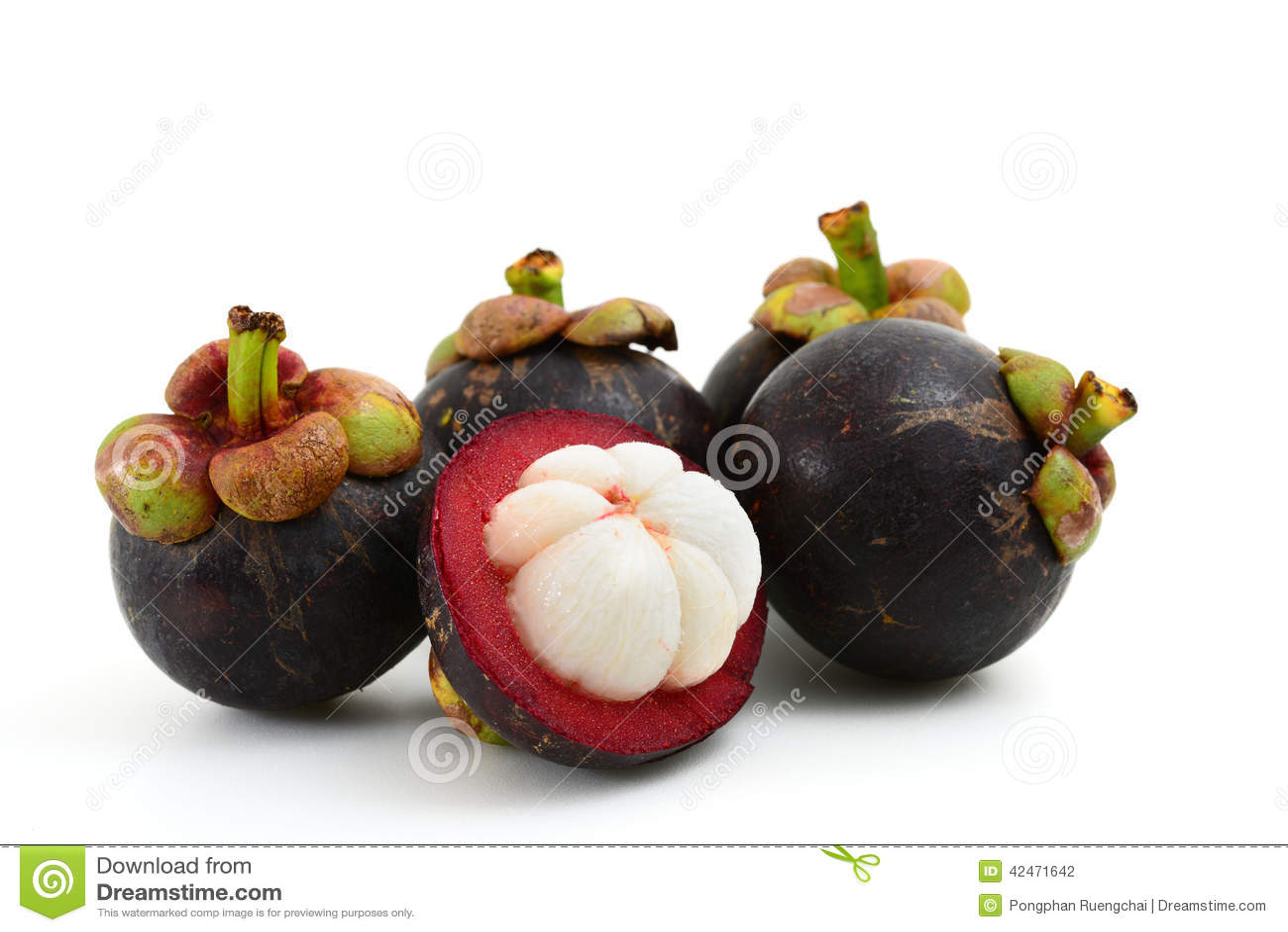 Mangostanfrucht