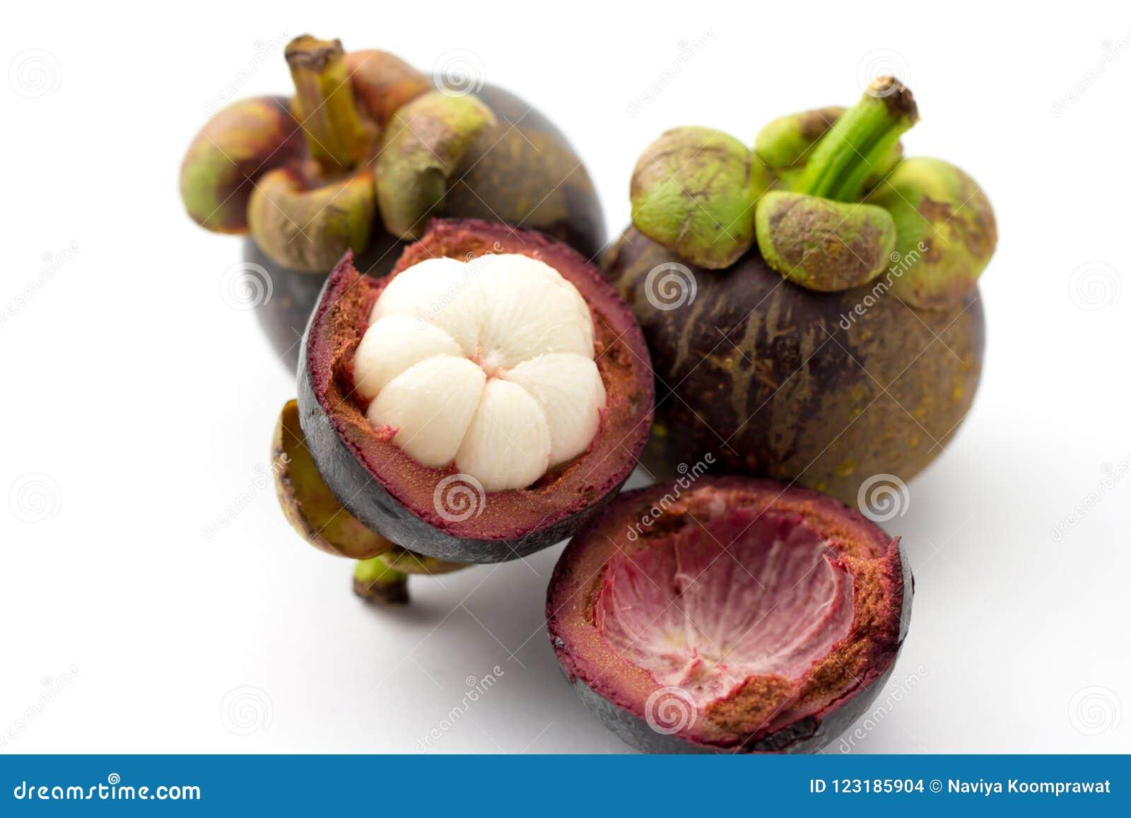 Mangostanfrucht, die Königin von Früchten von Thailand