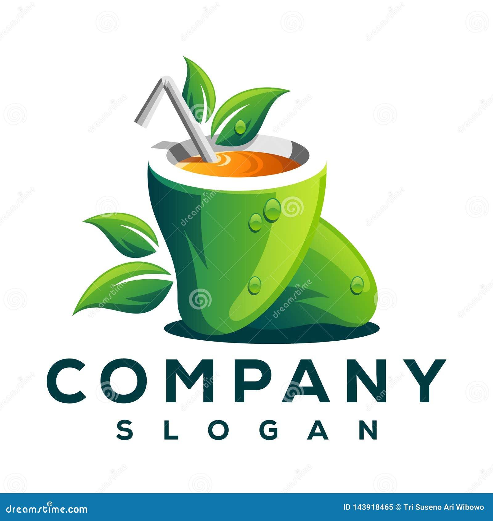 Mangowy owocowy logo logo projekt