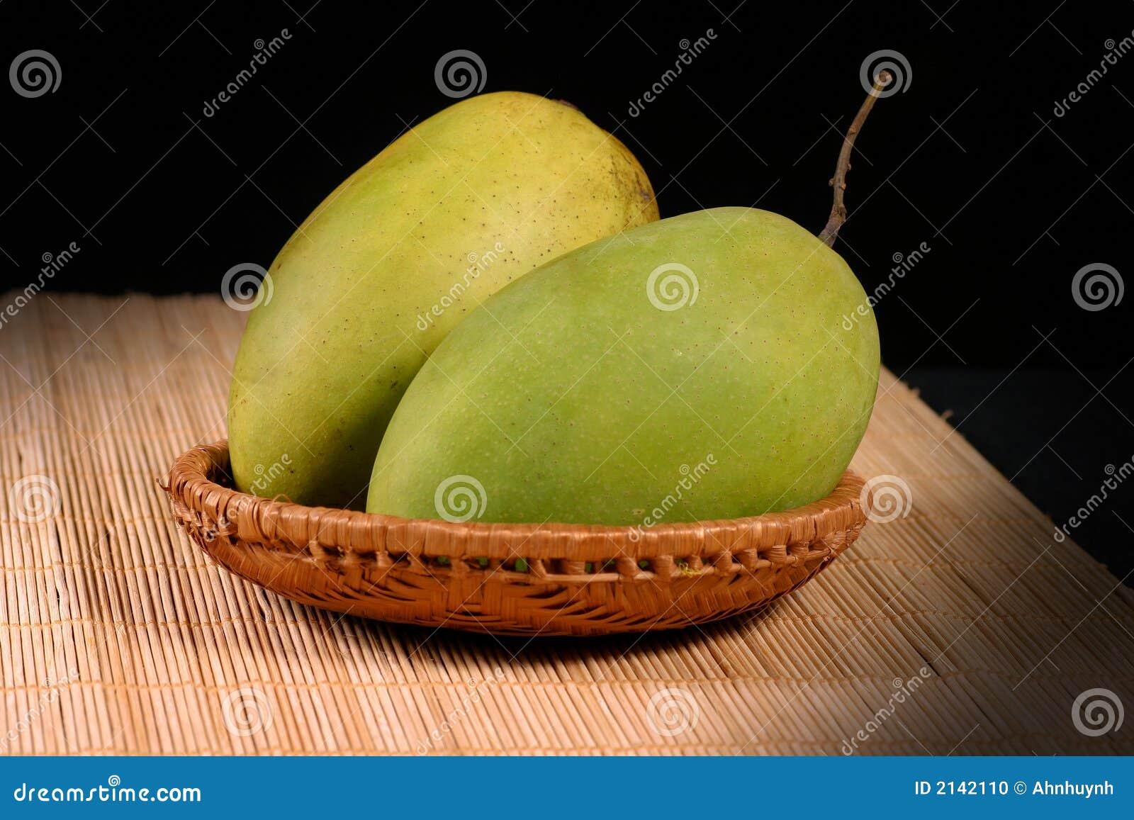 Mangue fraîche de couples