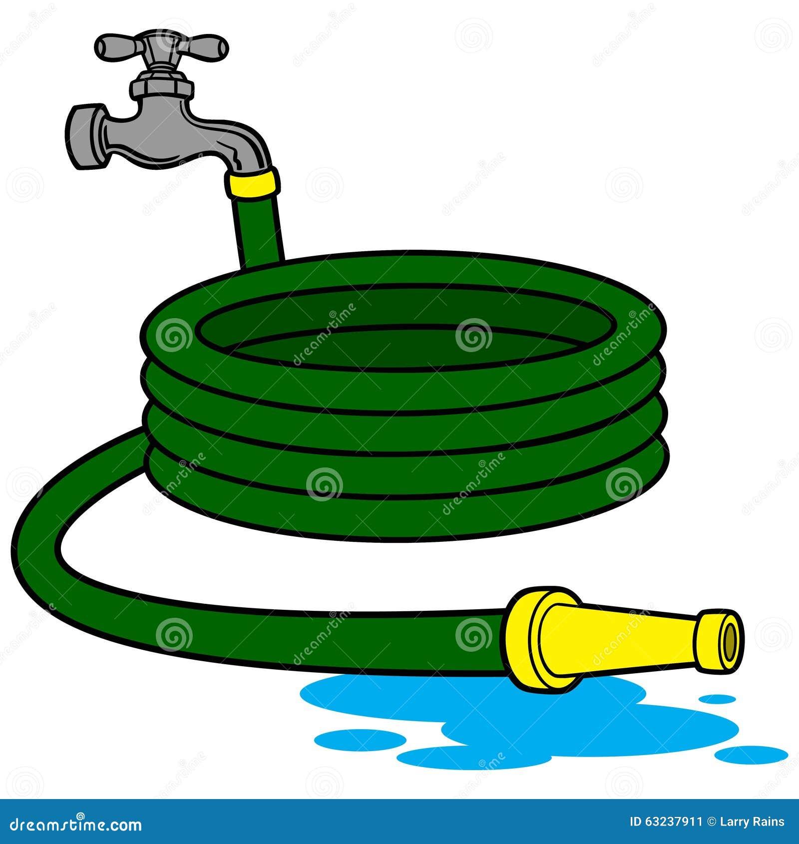 Manguera del agua ilustraci n del vector imagen 63237911 - Mangueras de agua ...