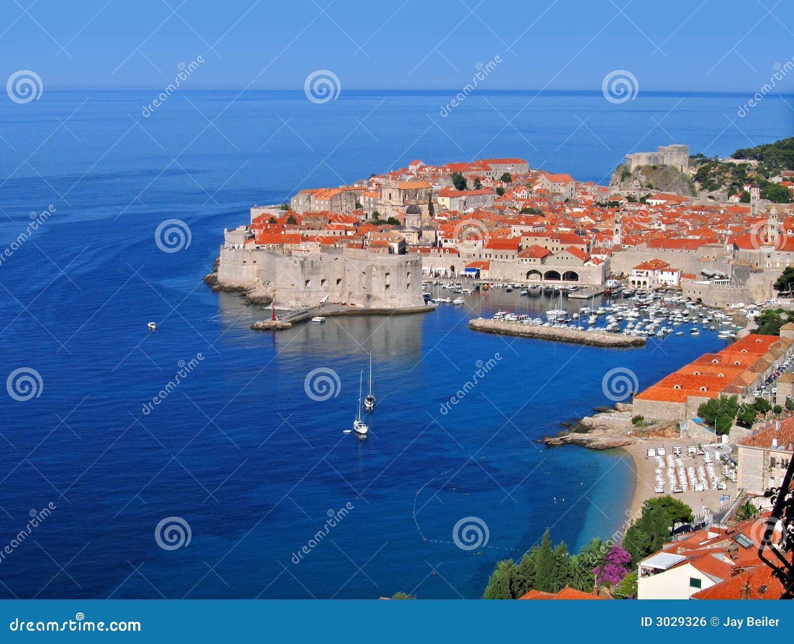 Manhã de Dubrovnik, Croatia