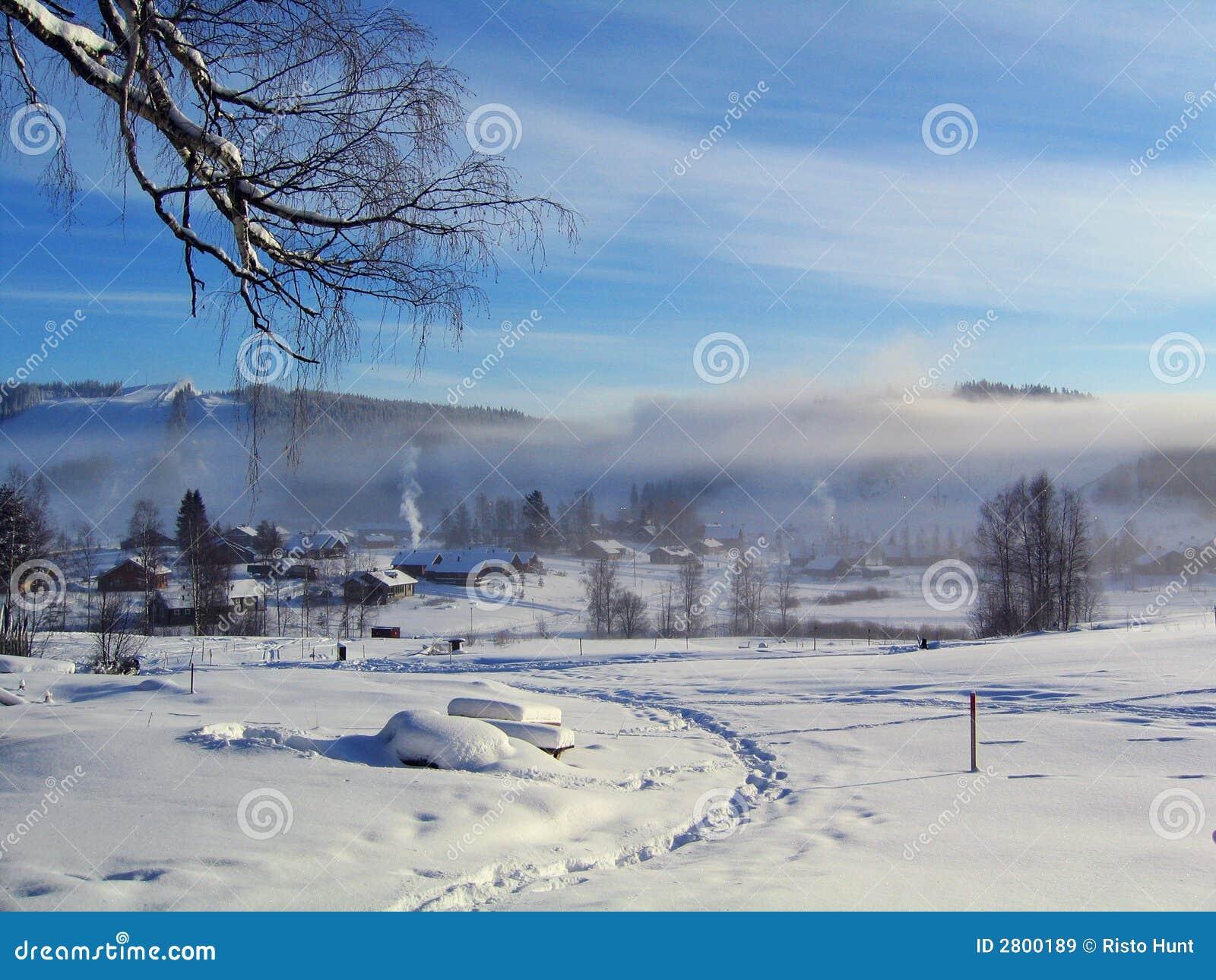 Manhã do inverno