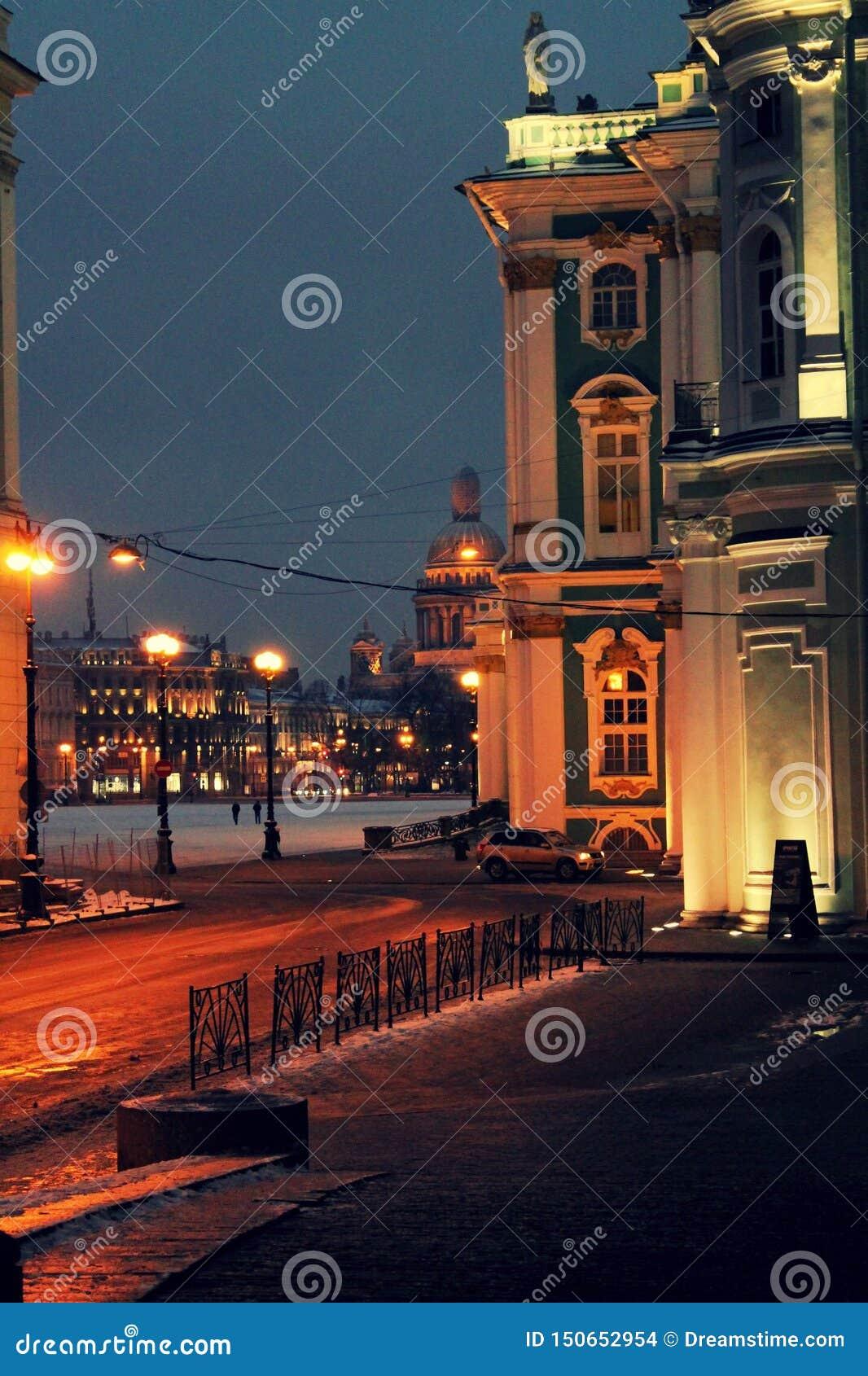 Manh? em St Petersburg