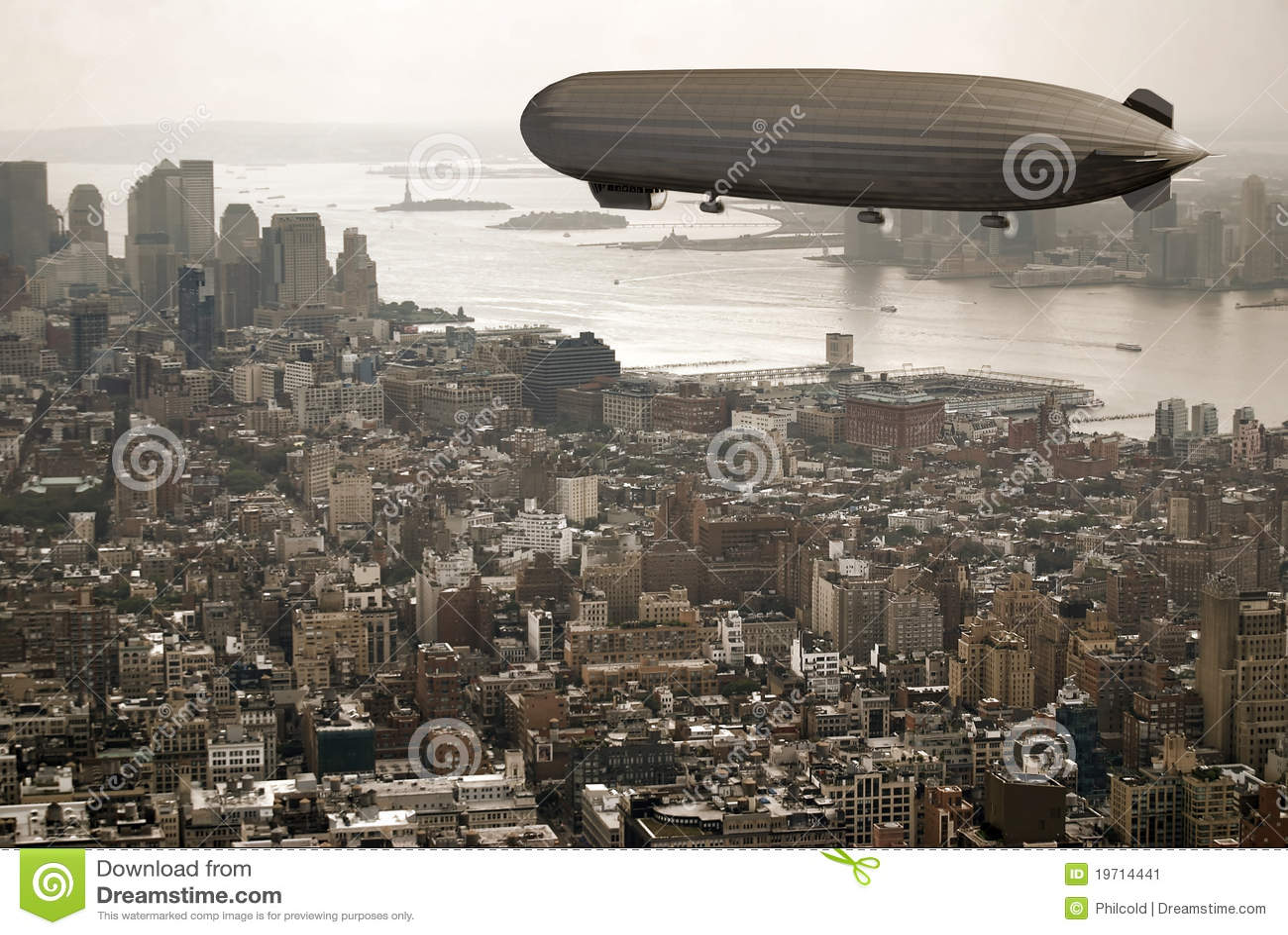 Manhattan над Зеппелином