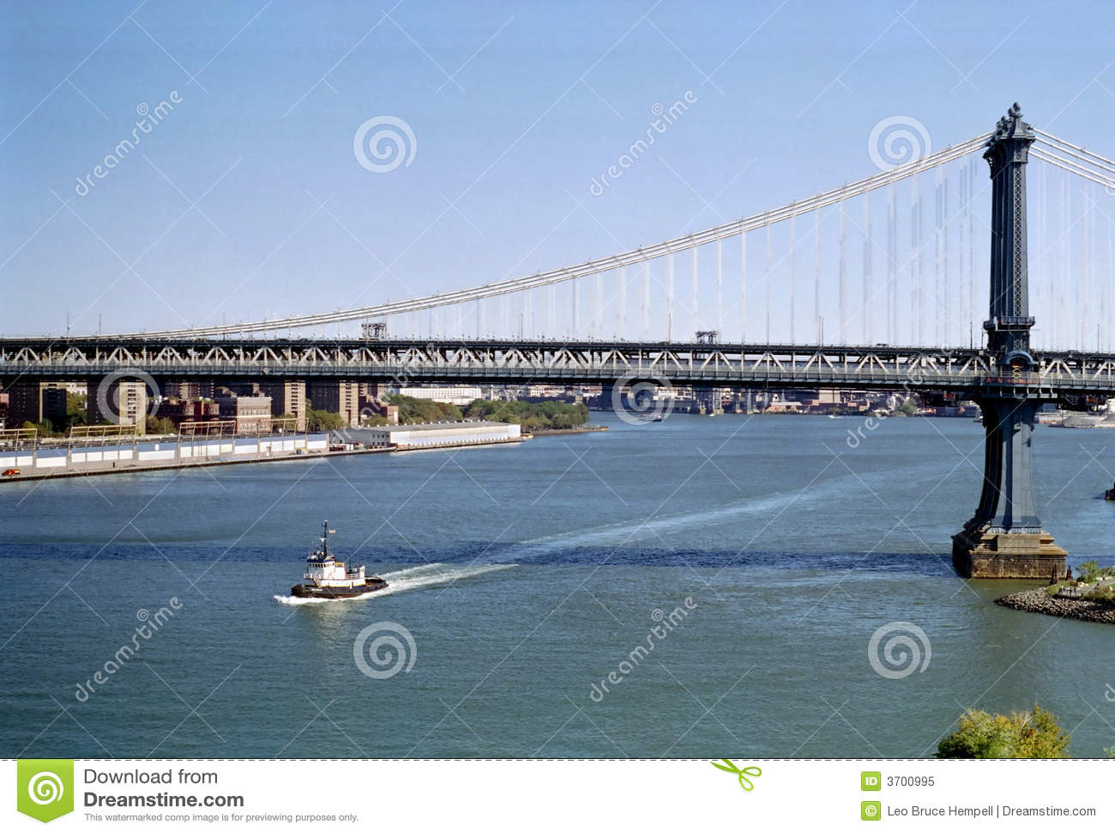 Manhattan Bridge New York USA