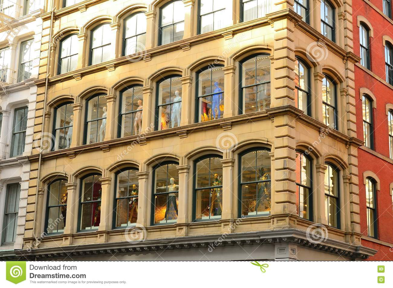 similar stock images of ` Manhattan Clothing Store Window Display