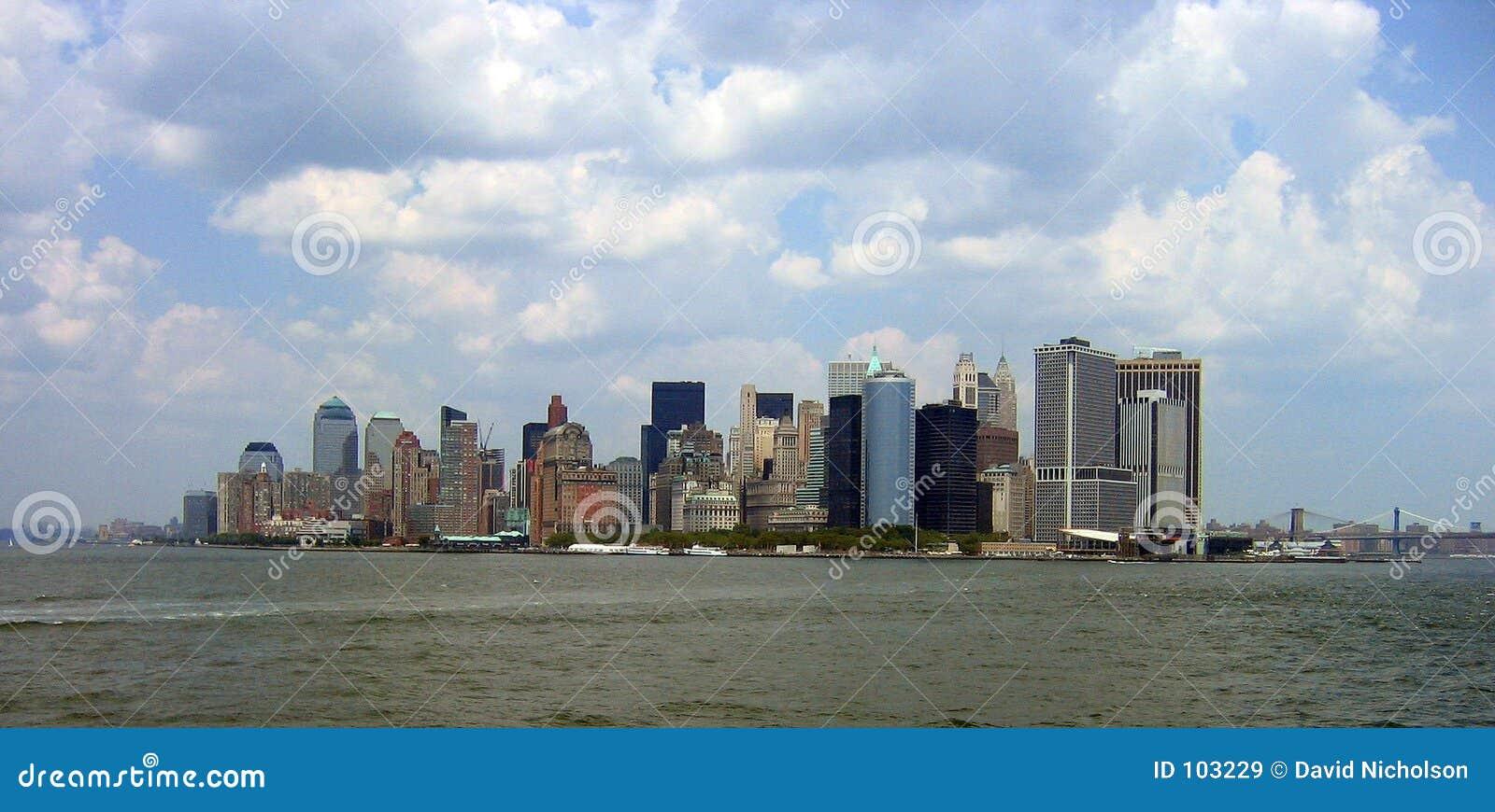 Manhattan do console de Staten