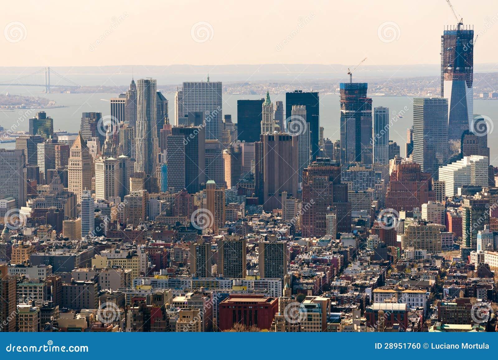 Manhattan, Miasto Nowy Jork. USA.