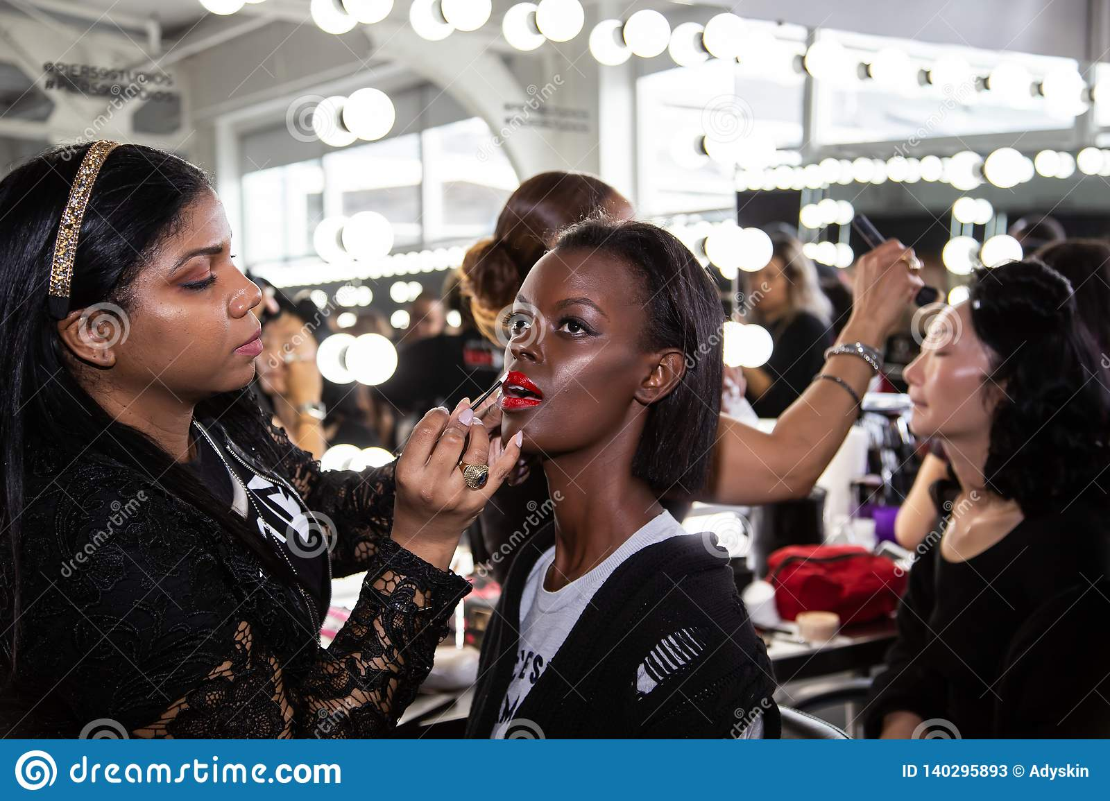 Romeo Hunte Men and Women Fashion show as part of the New York Fashion Week