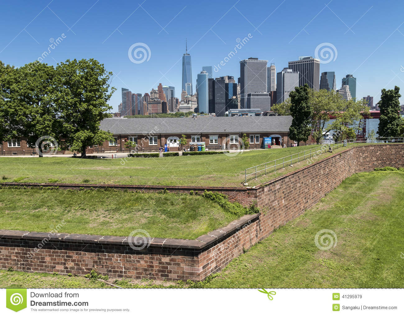 Fort Jay Governors Island New York