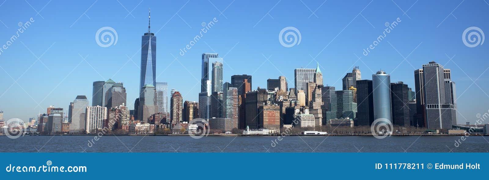 Manhattan Skyline and One World Trade Centre