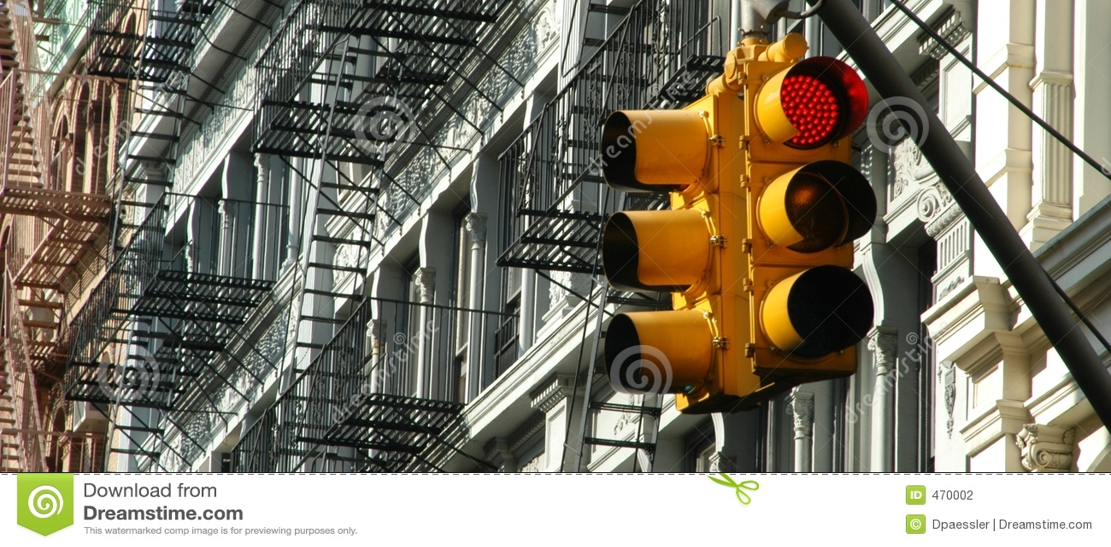 Manhattan Traffic Light