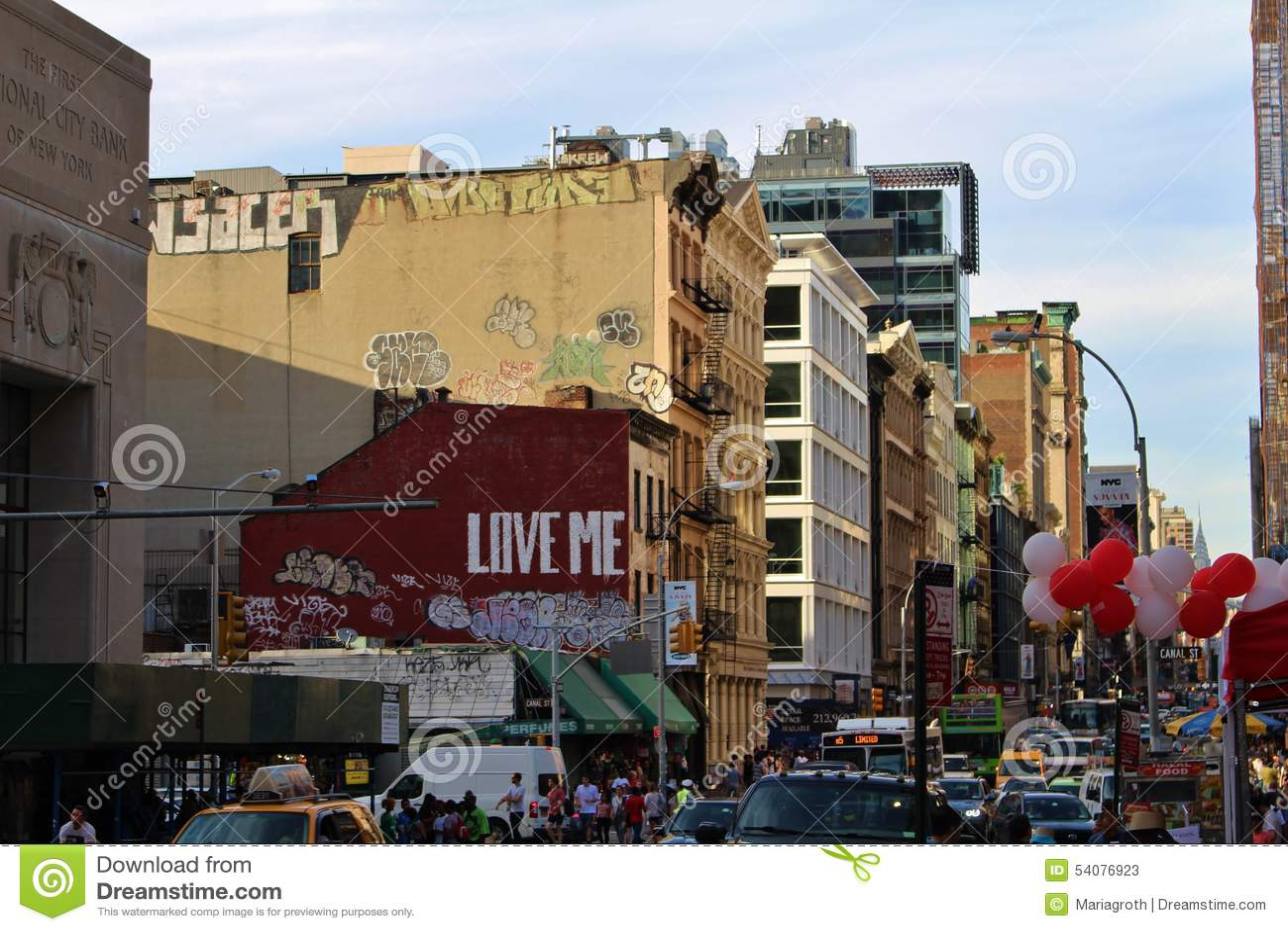 Manhattan van de binnenstad, New York