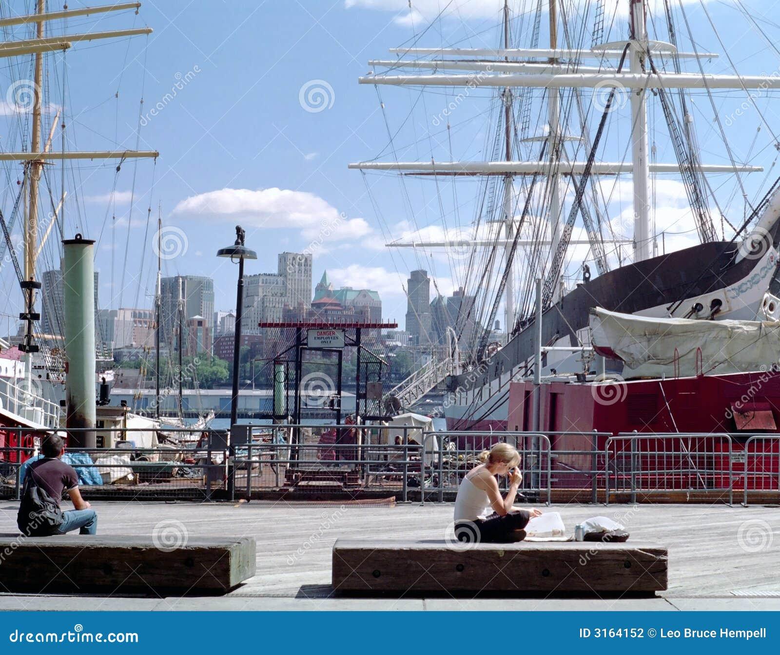 Manhattan Waterfront New York