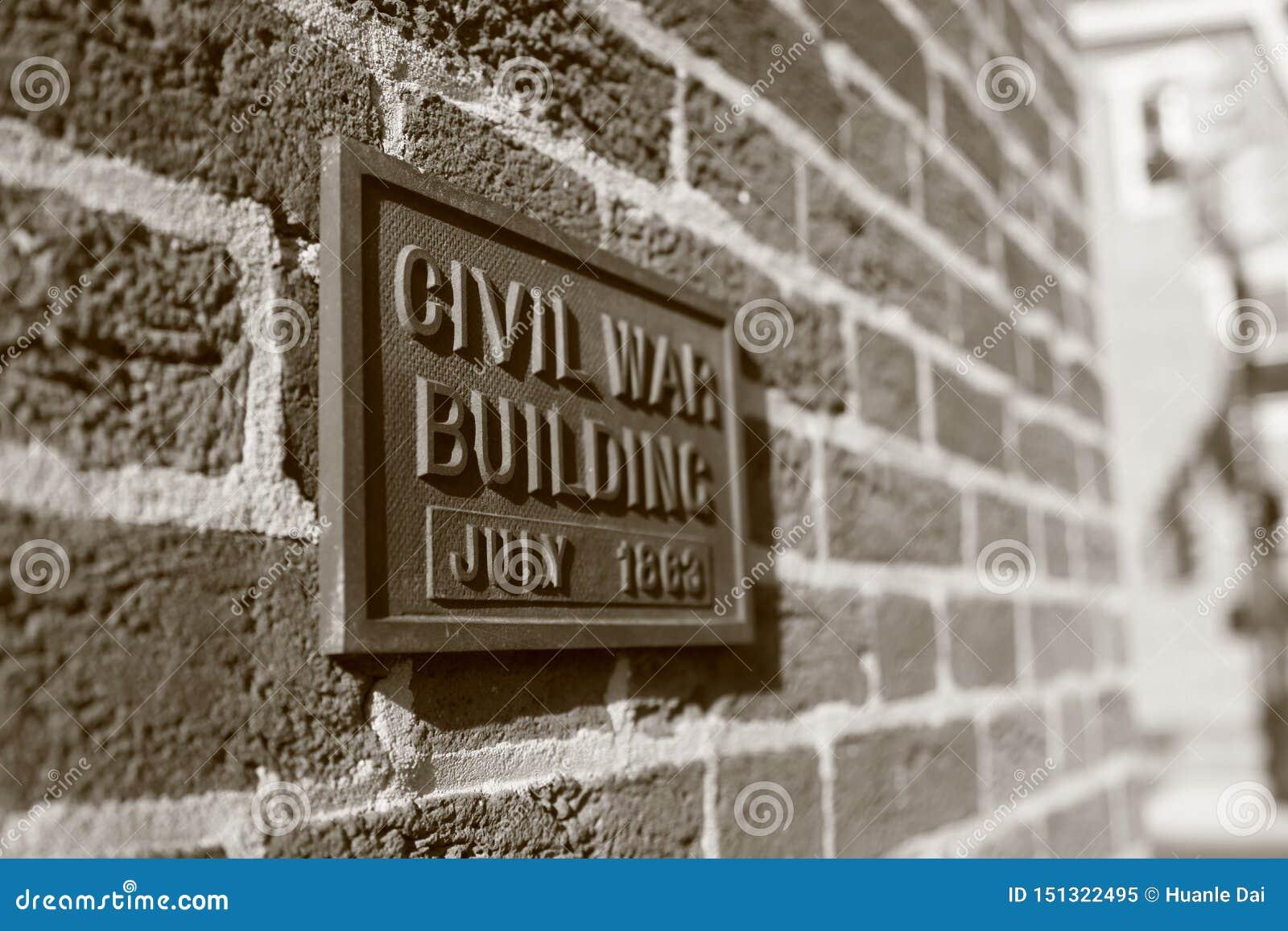 Manière civile en juillet 1862 de construction