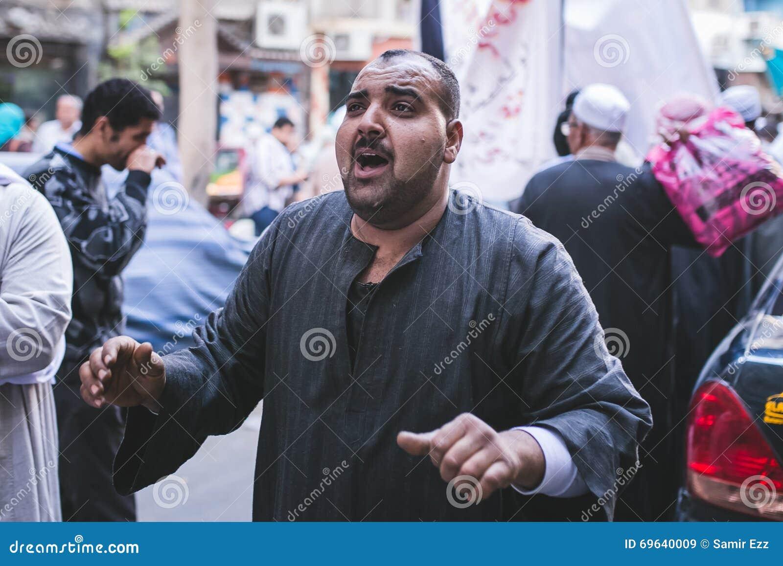 Manière Rifai Sufi Egypte de célébrations
