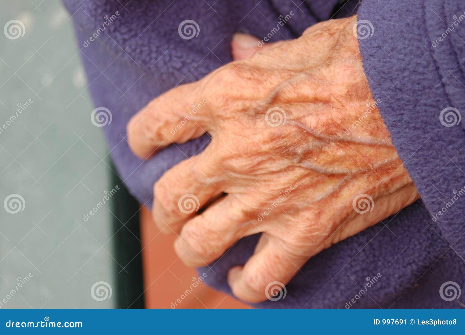 Mani anziane
