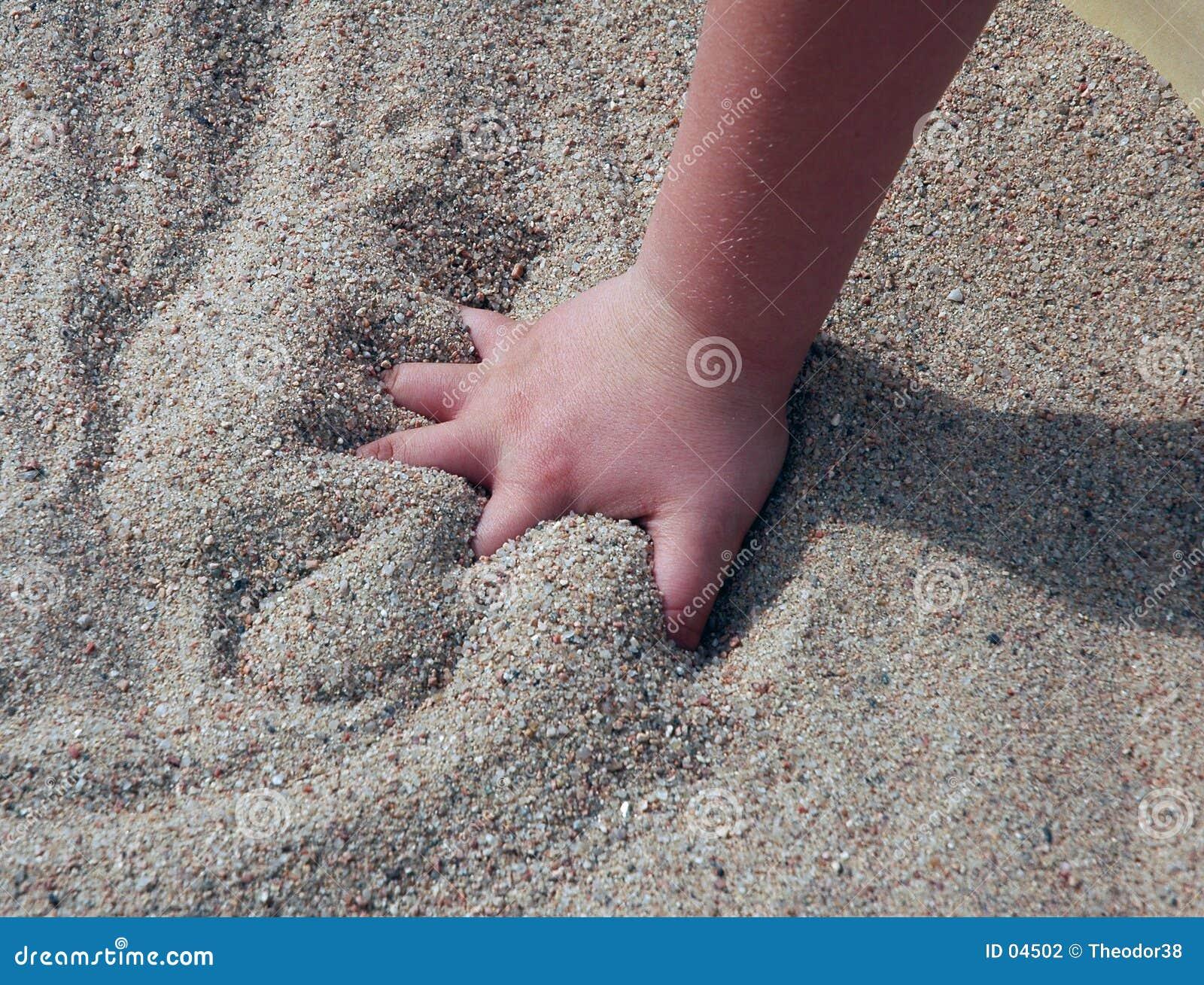 Mani del bambino