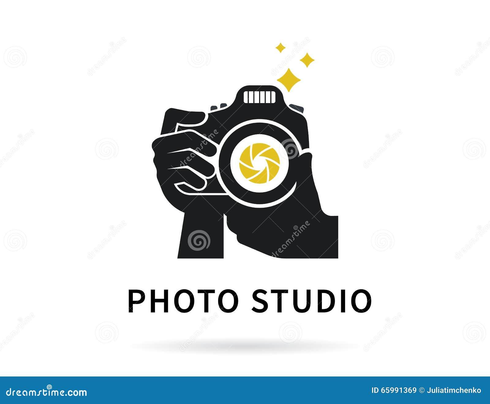 Favoloso Mani Del Fotografo Con L'illustrazione Piana Della Macchina  YH27