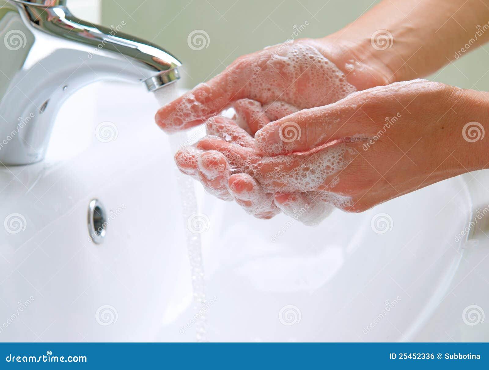 Mani di lavaggio