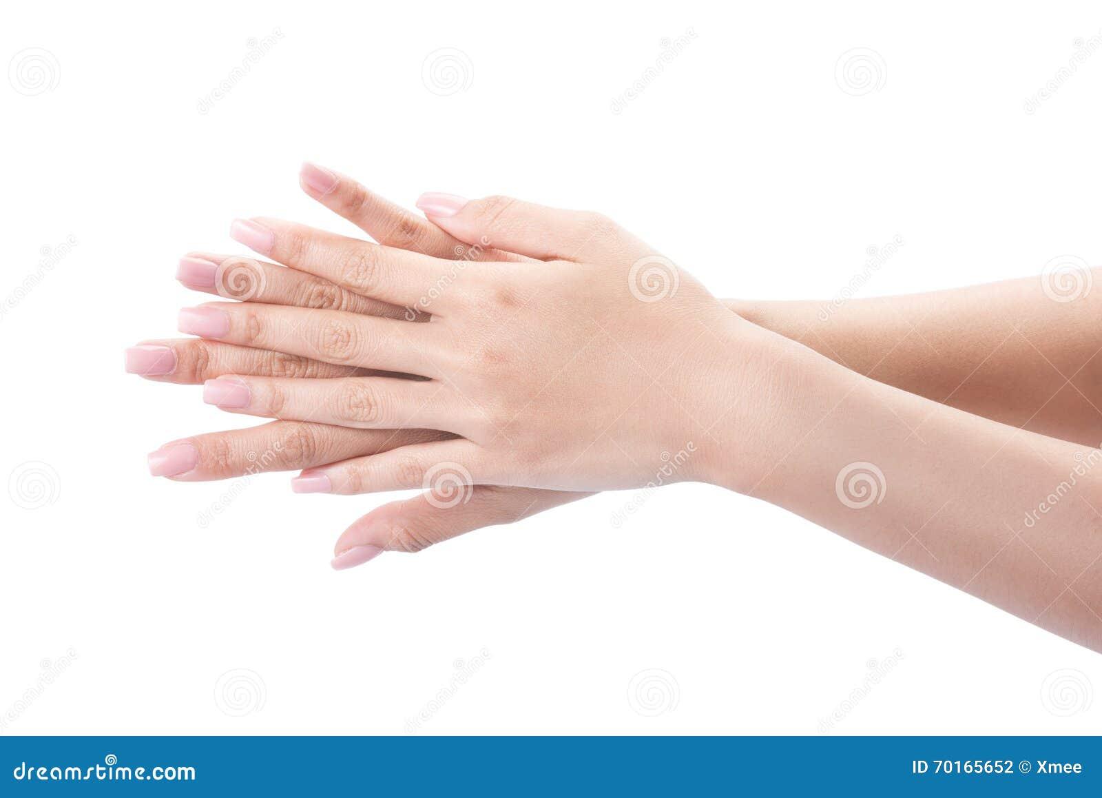 Mani di lavaggio di gesto