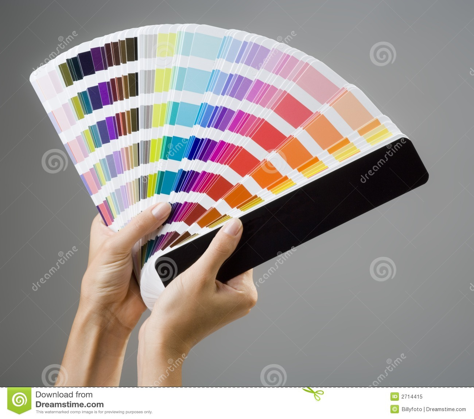 Mani e guida di colore