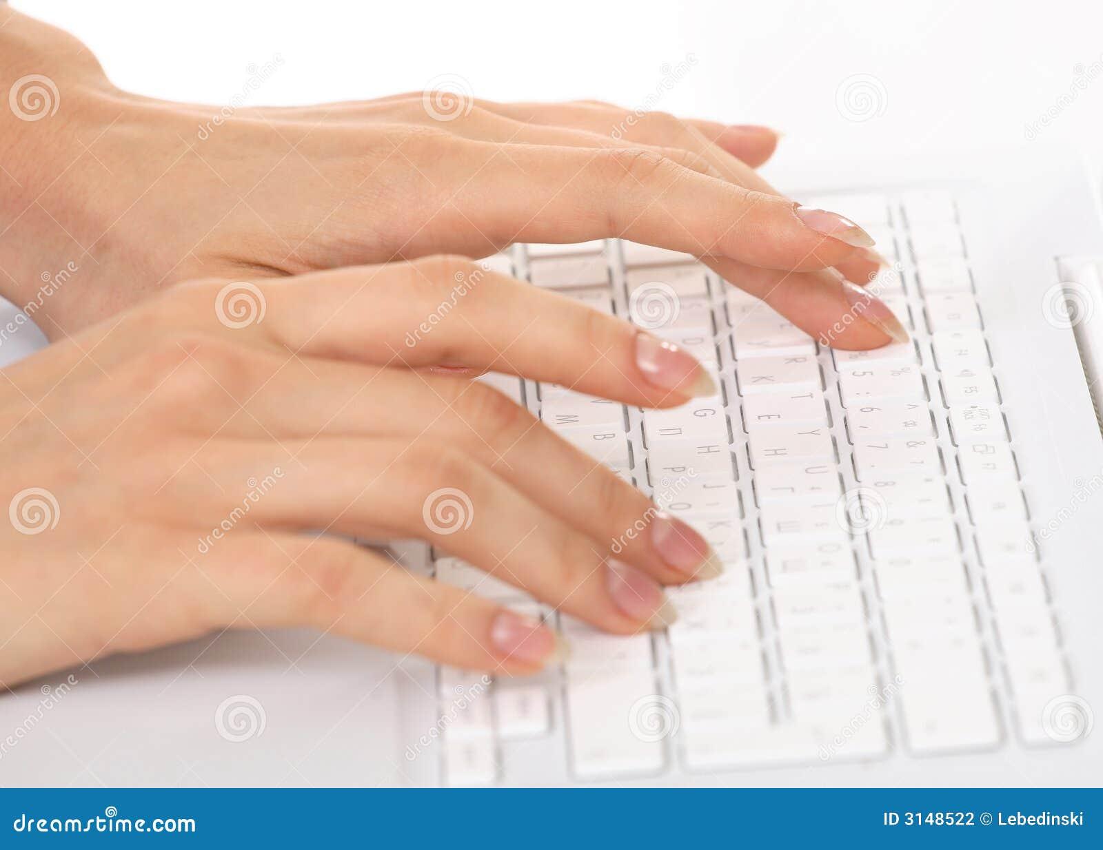 Mani e tastiera