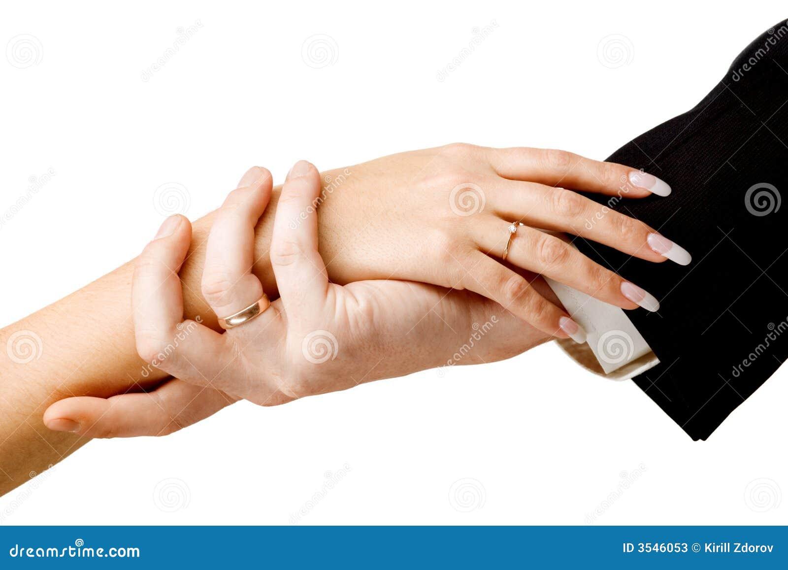 Mani sulla cerimonia nuziale