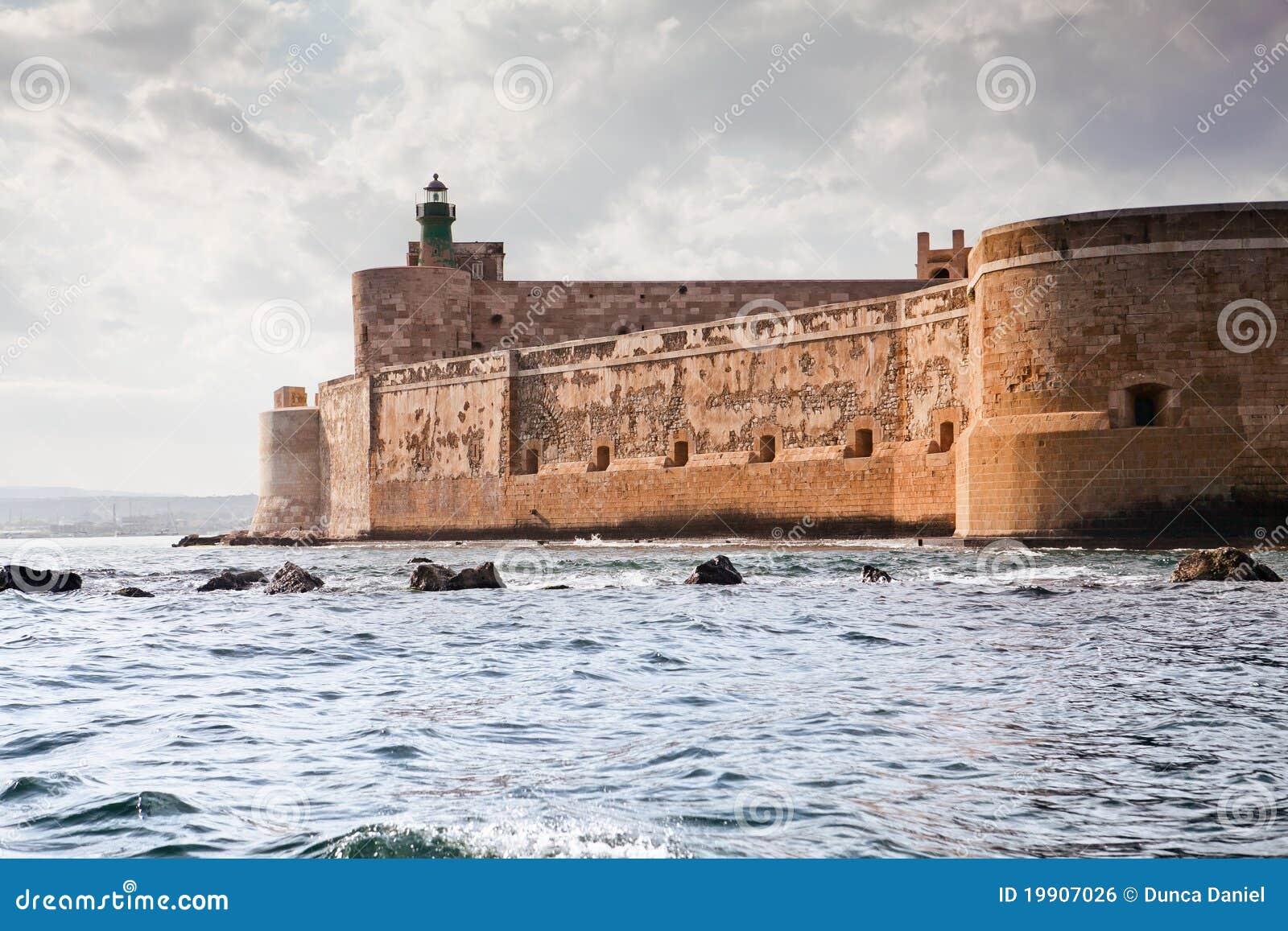 Maniace Сицилия syracuse Италии замока
