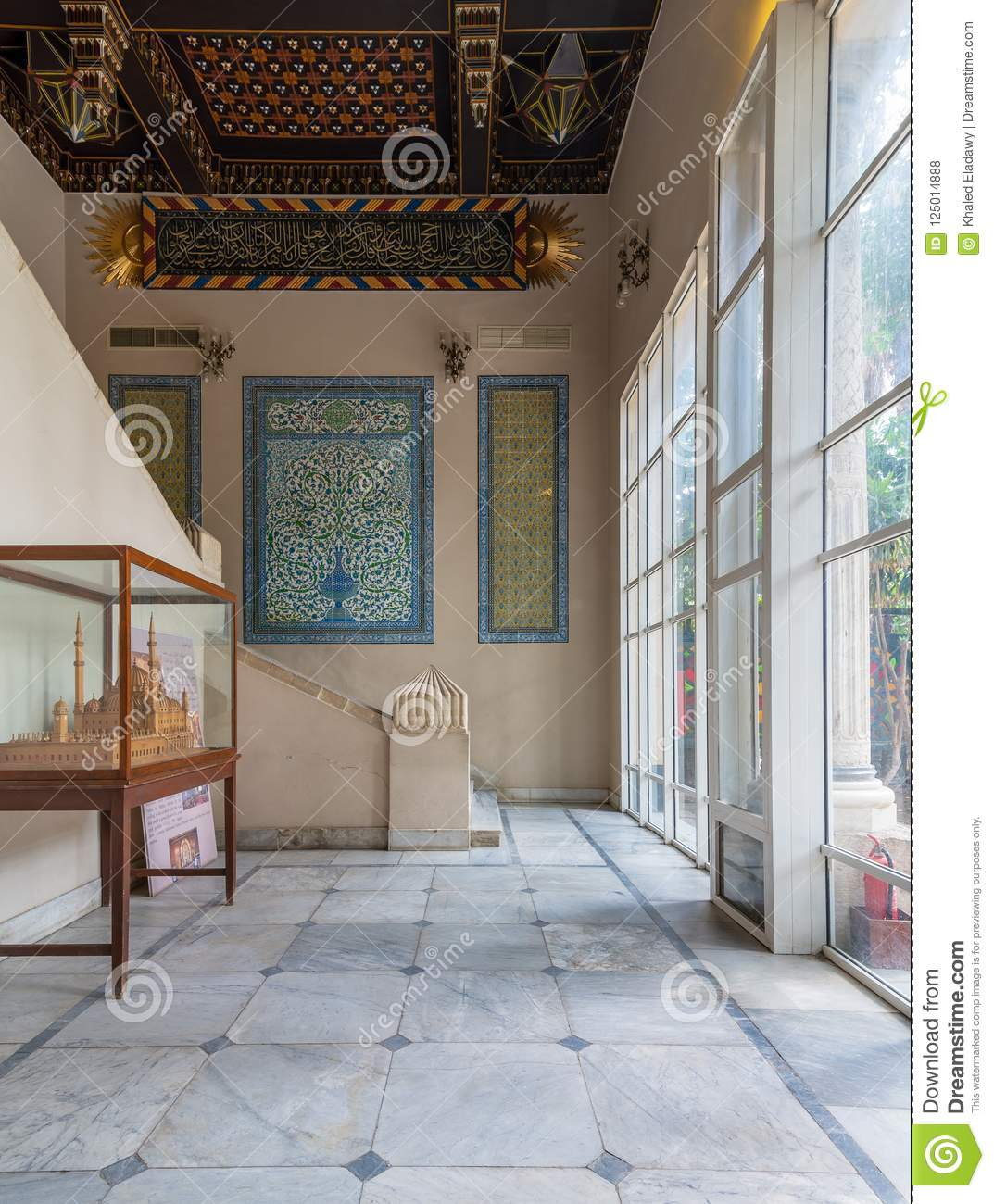 Manial Palace Of Prince Mohammed Ali Entrance Of Residence Of