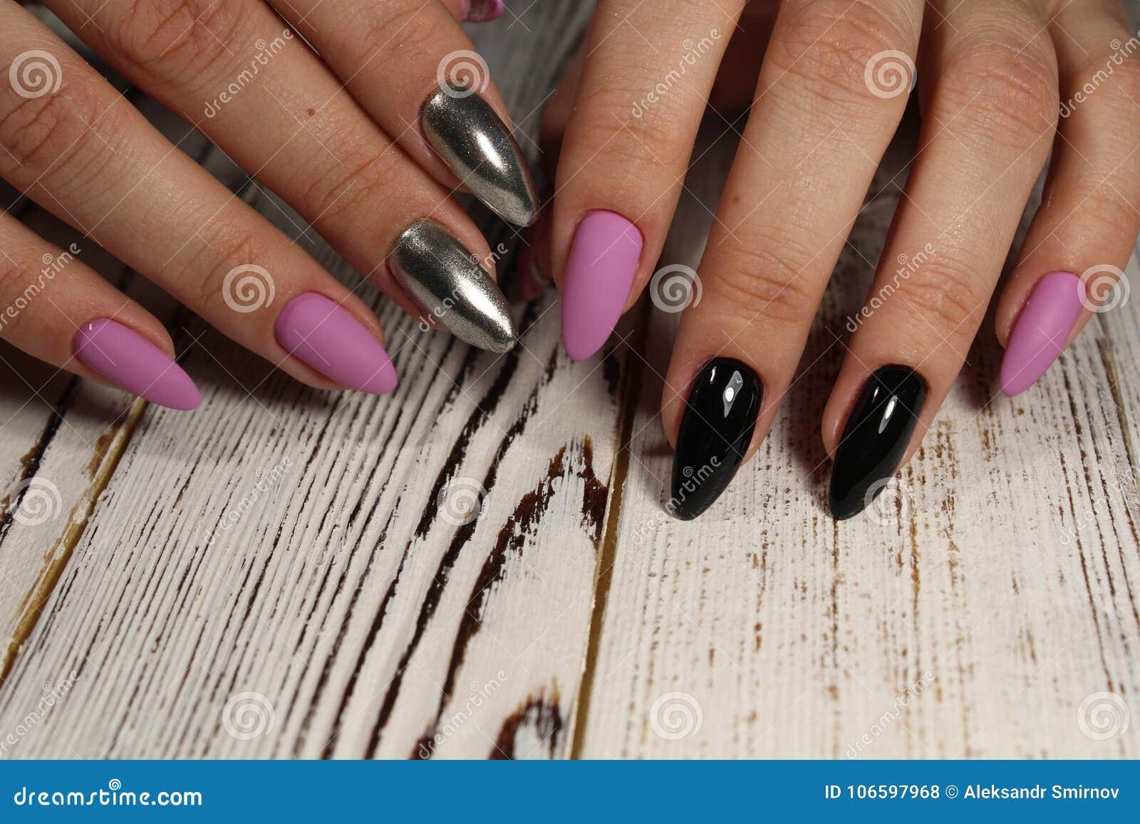 Manicure - Beauty Treatment Photo Of Nice Manicured Woman ...