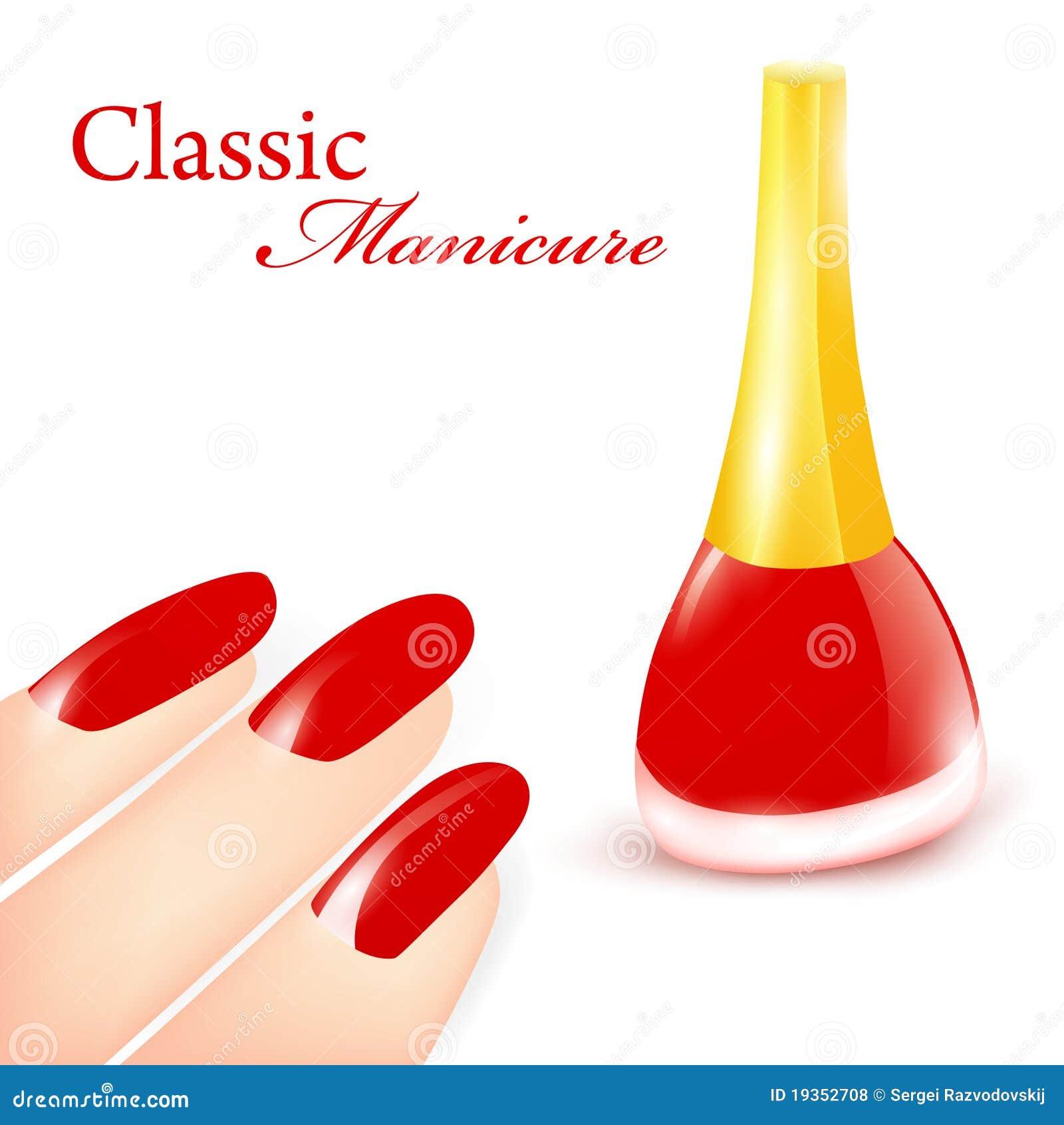 Manicure clássico