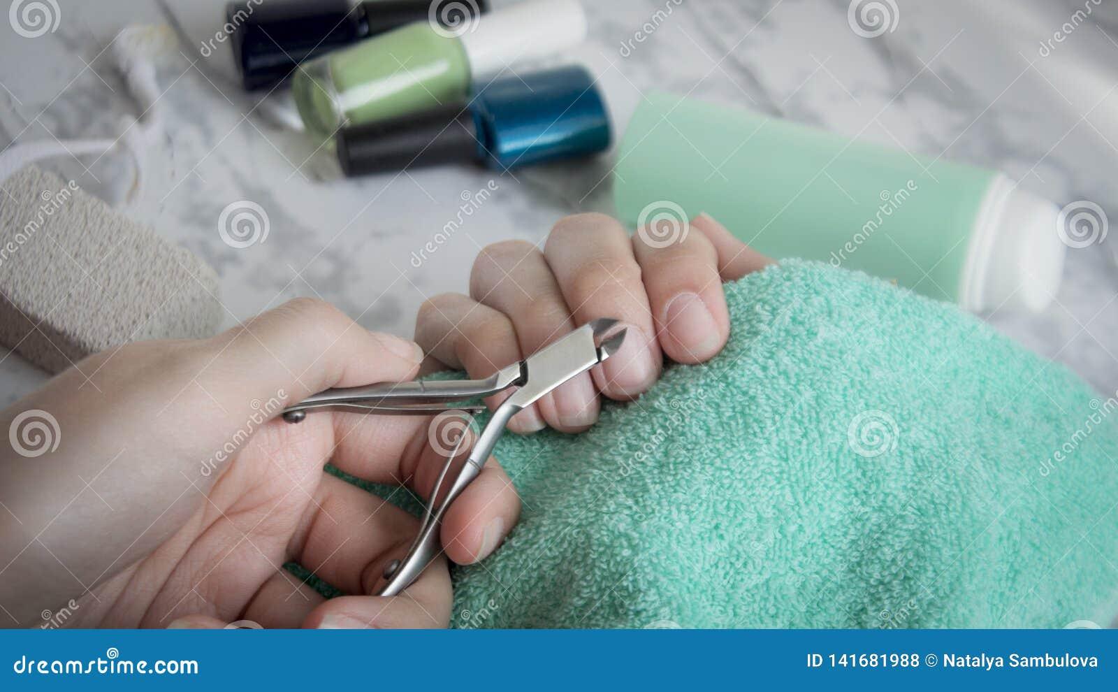 Manicure, cura di pelle, bellezza, modo, stazione termale, per le donne, lusso