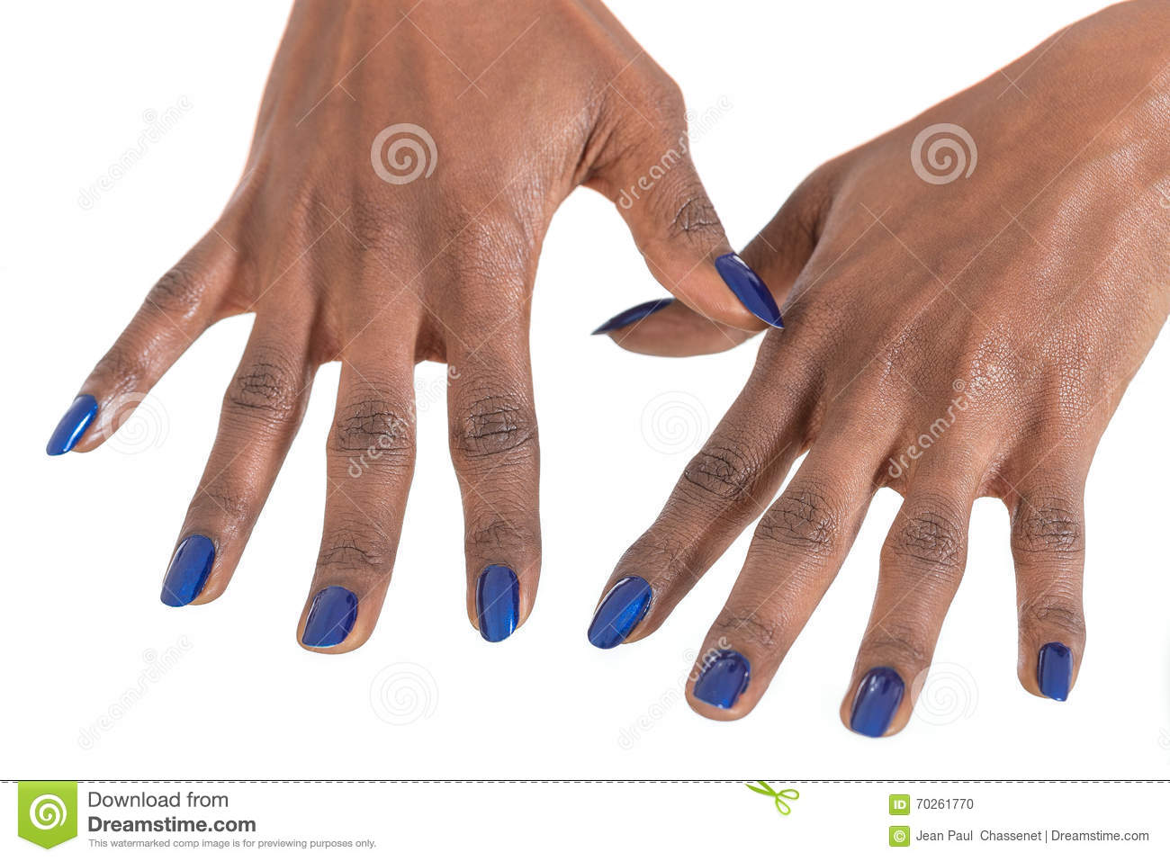 Manicure And Makeup Concept. Stock Photo - Image of african, luxury ...
