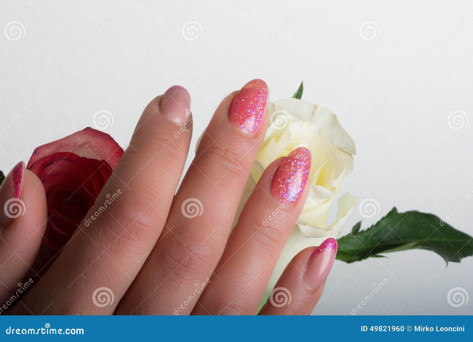 Manicure and nail art stock photo. Image of nail, beauty - 49821960