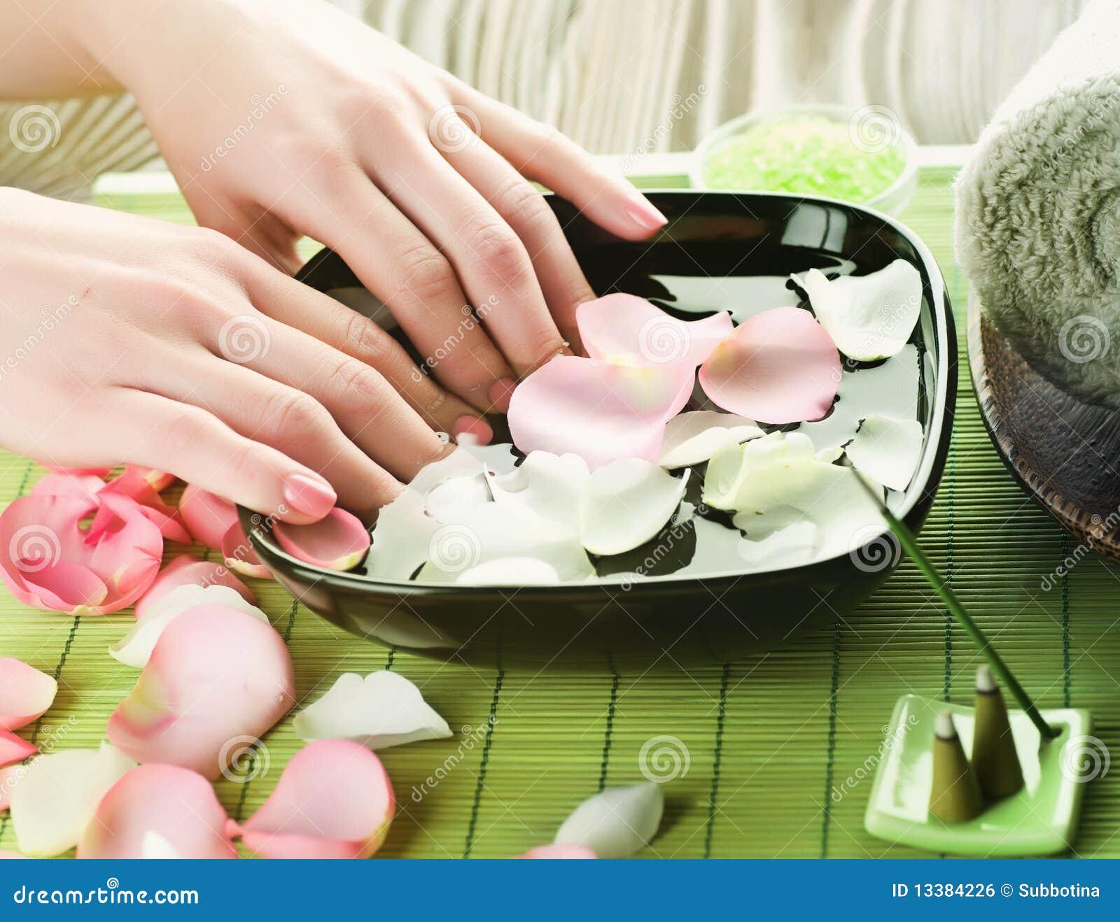 Manicure.Spa Royalty Free Stock Image - Image: 13384226