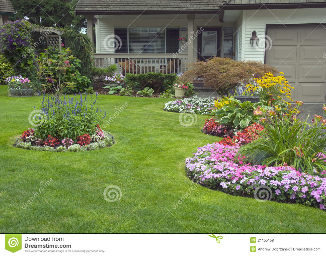 Manicured Home and Garden