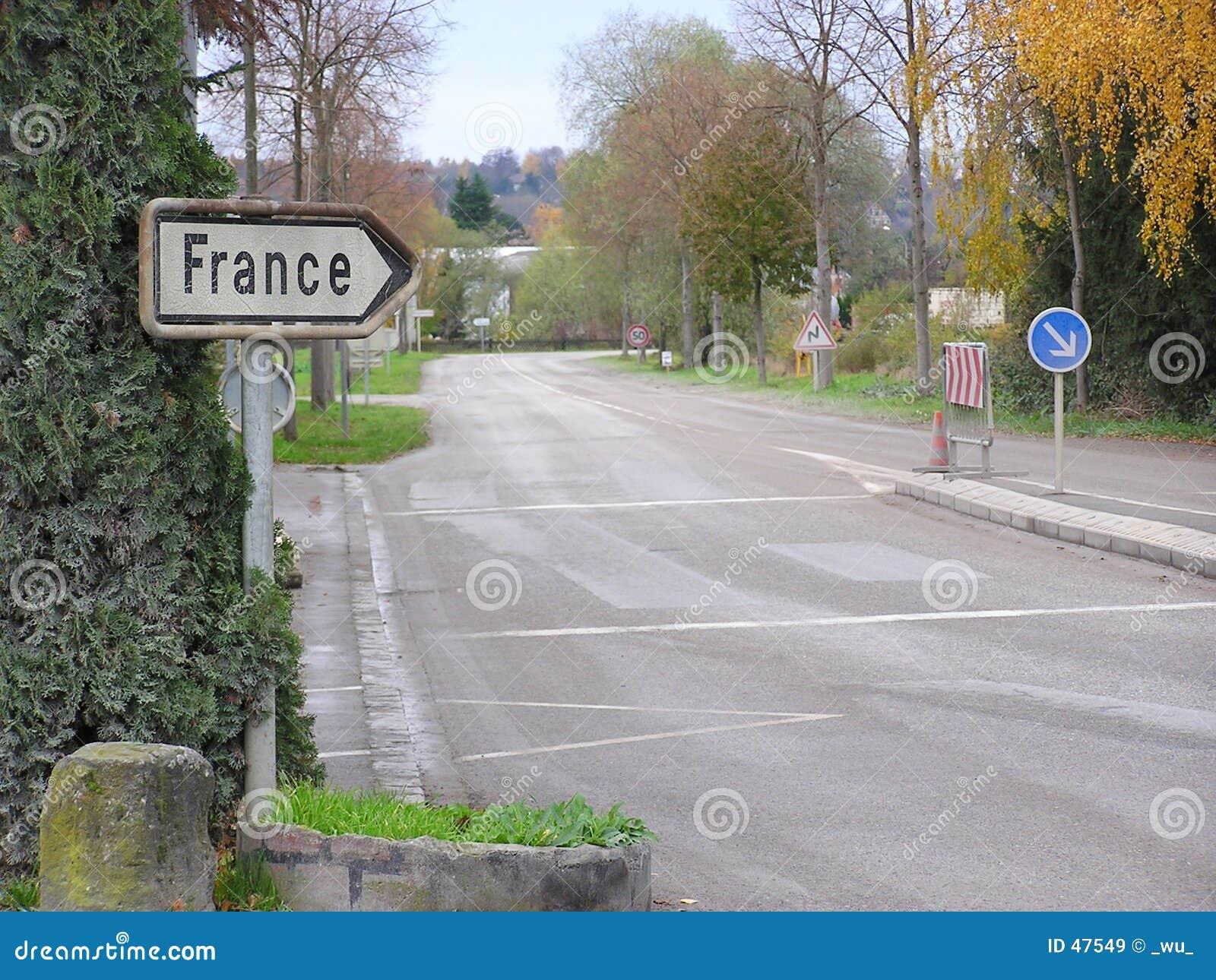 Manier aan Frankrijk