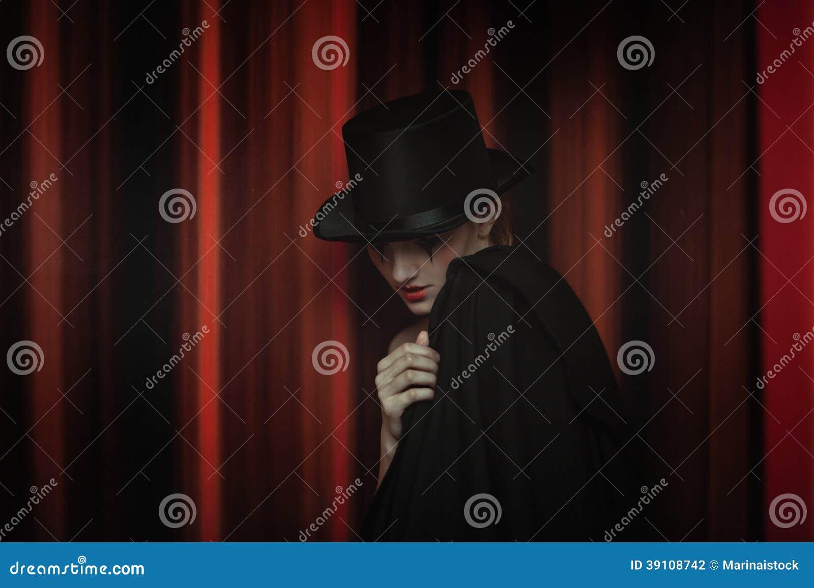 Manier in theater. Drama