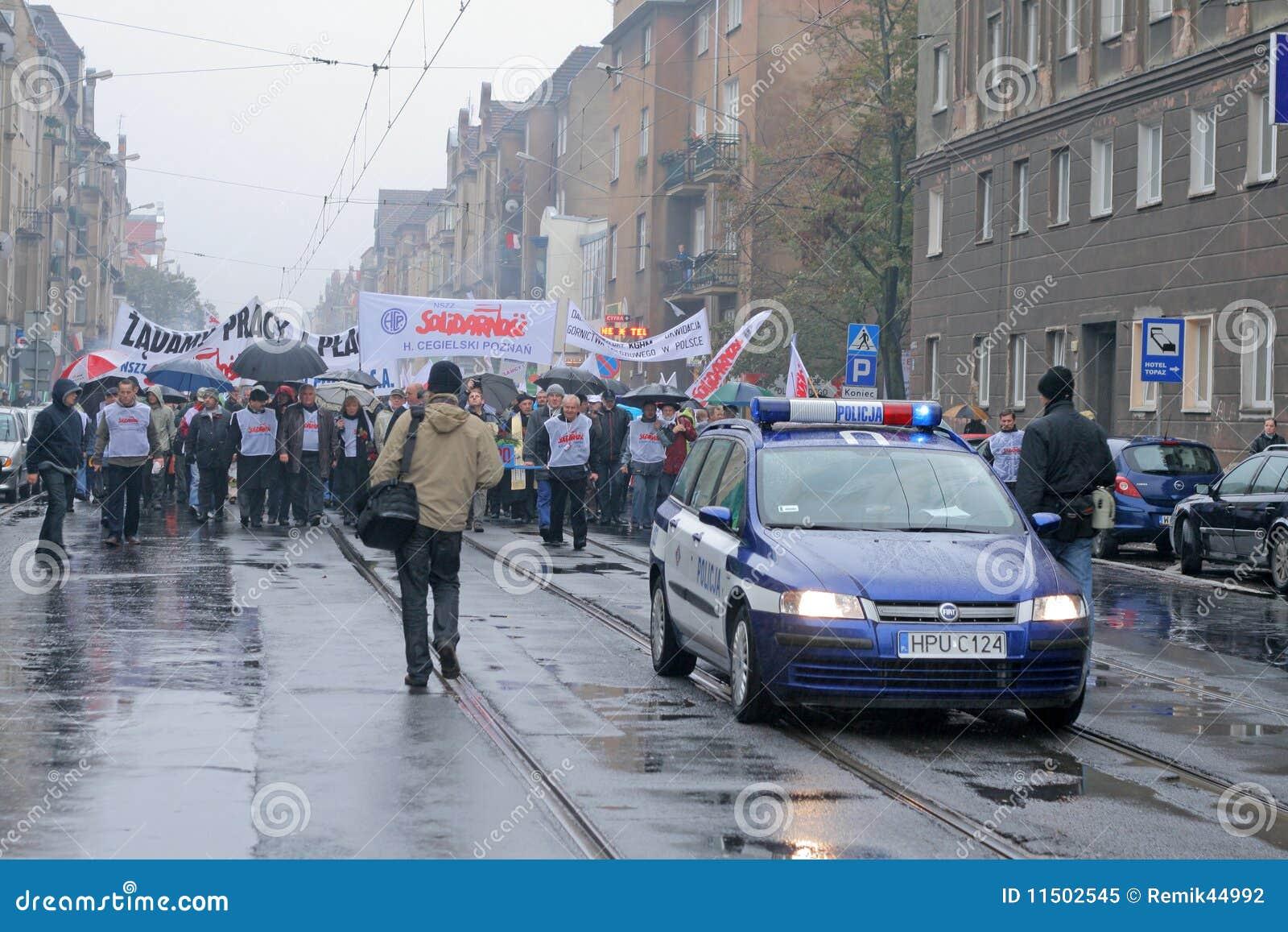 Manifestation d ouvriers